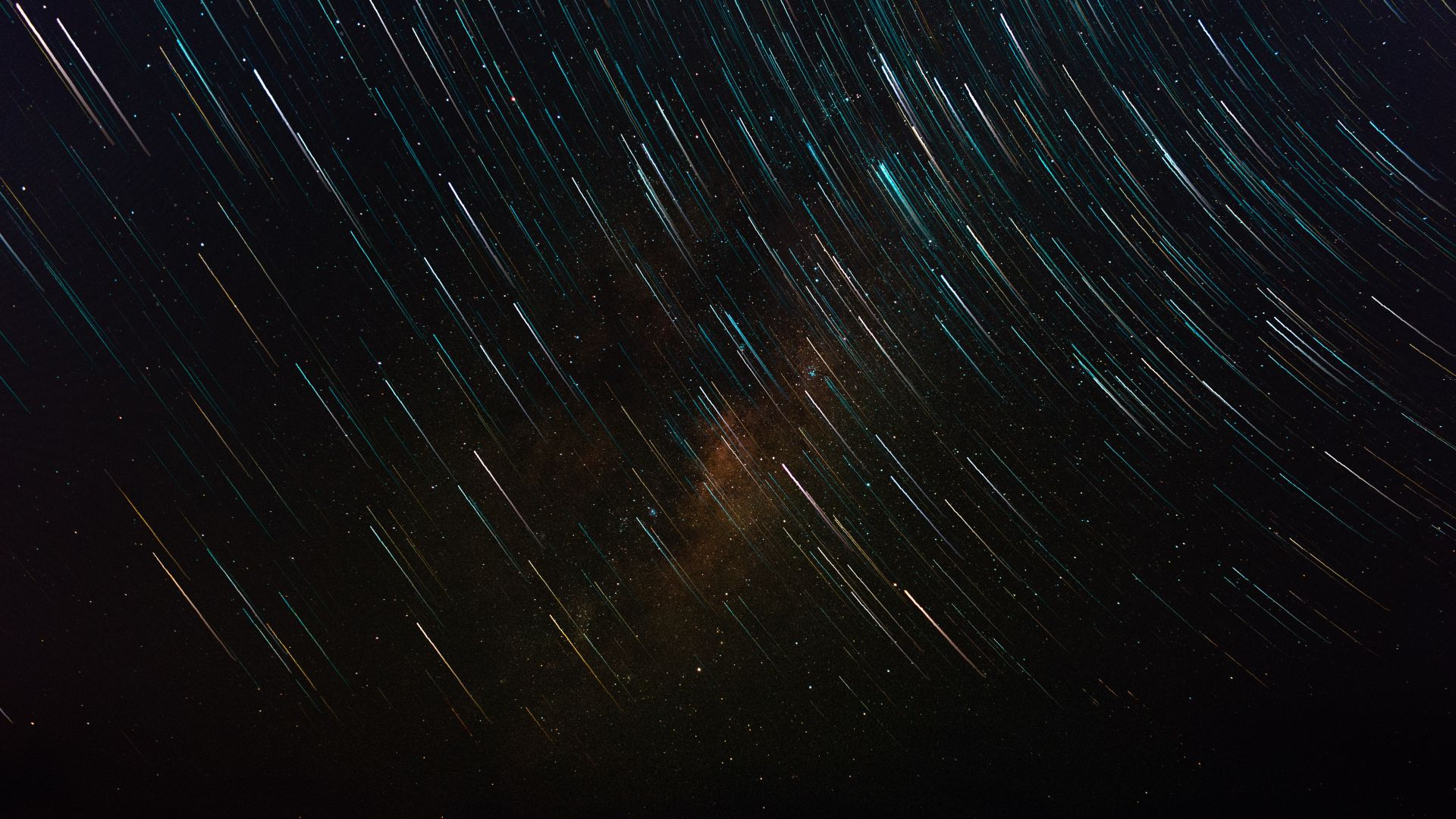 Звезды, небо, Stars, star trail, galaxy, sky, 4K, 6K (horizontal)