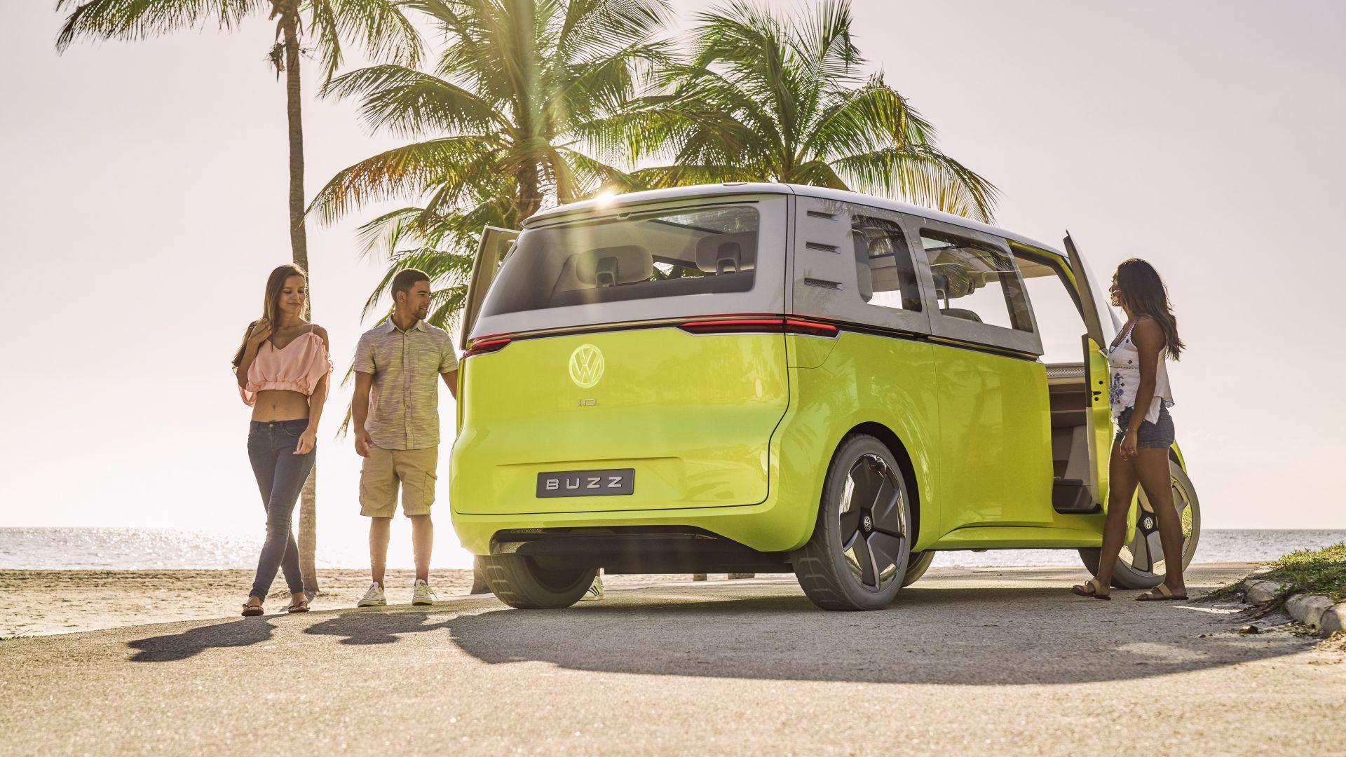 Обои Фольксваген ИД Базз, Volkswagen ID Buzz, 2021 Cars ...