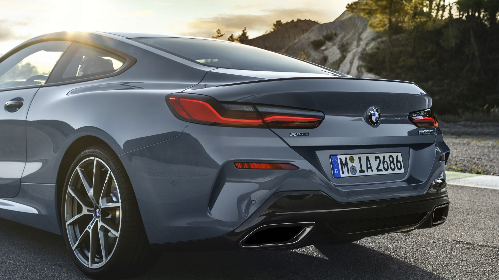BMW 8-Series Coupe, 2019 Cars, 4K (horizontal)