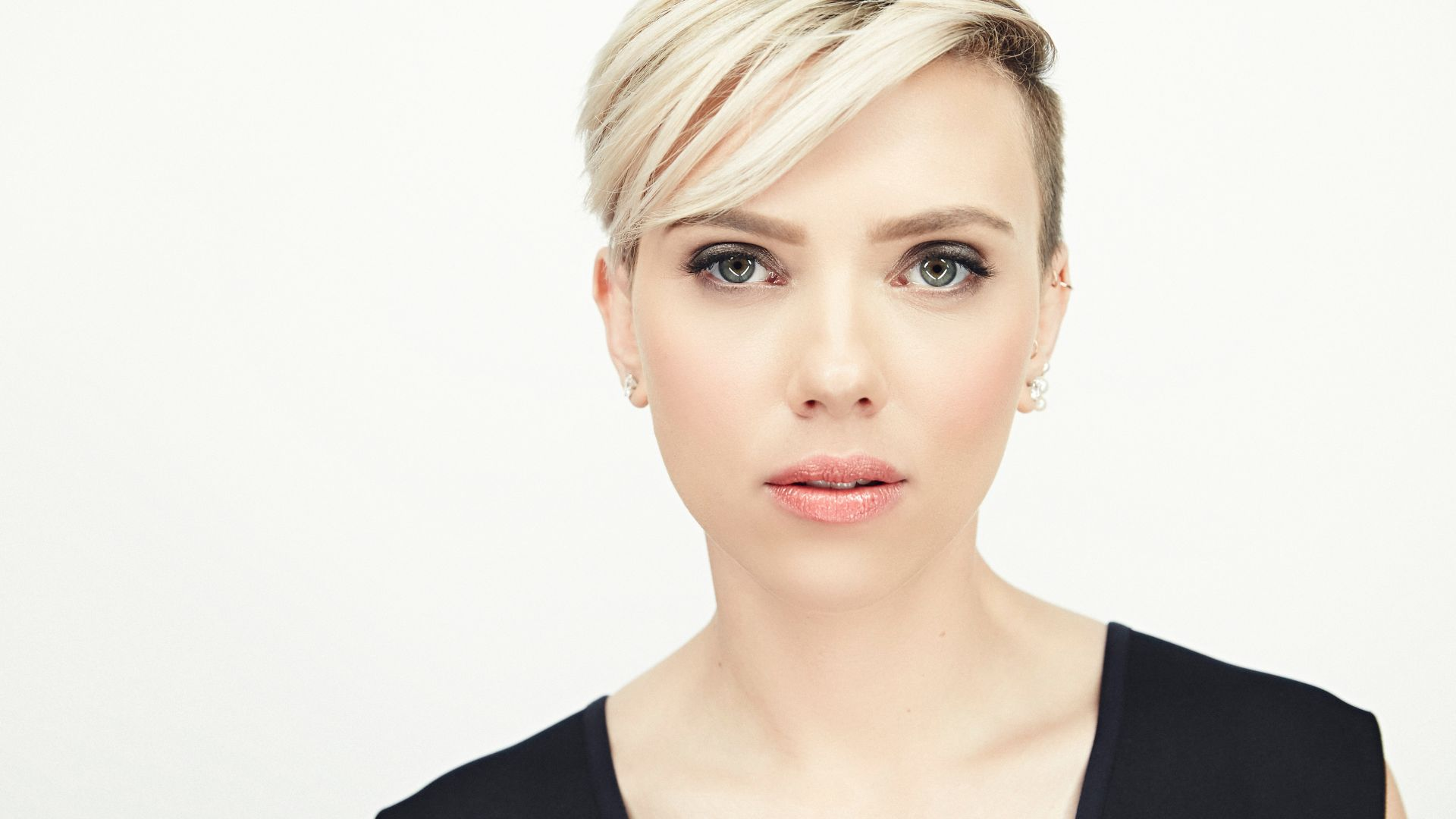 Скарлетт Йоханссон, Scarlett Johansson, actress, 4K (horizontal)