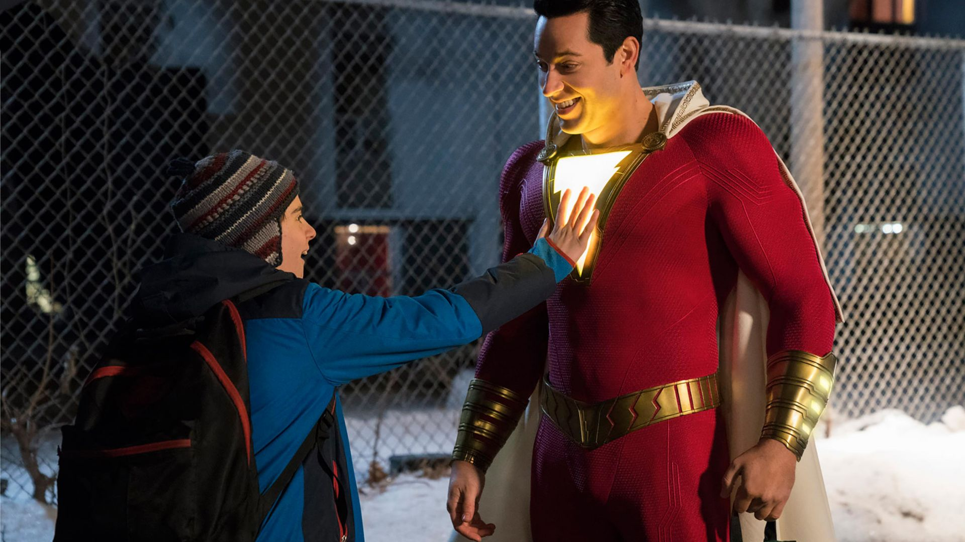 Шазам!, Shazam!, Zachary Levi, Asher Angel (horizontal)