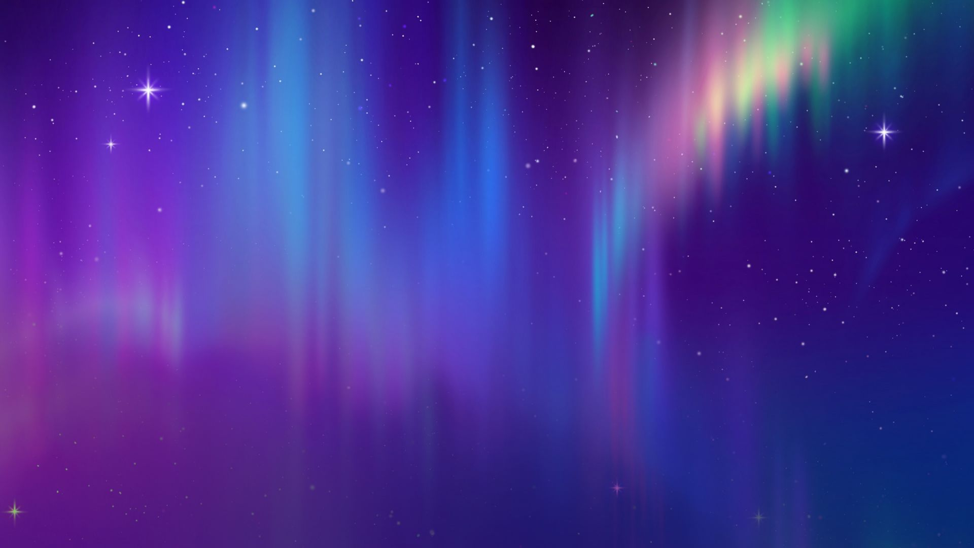 северное сияние, космос, абстракция, aurora, space, abstract, HD (horizontal)