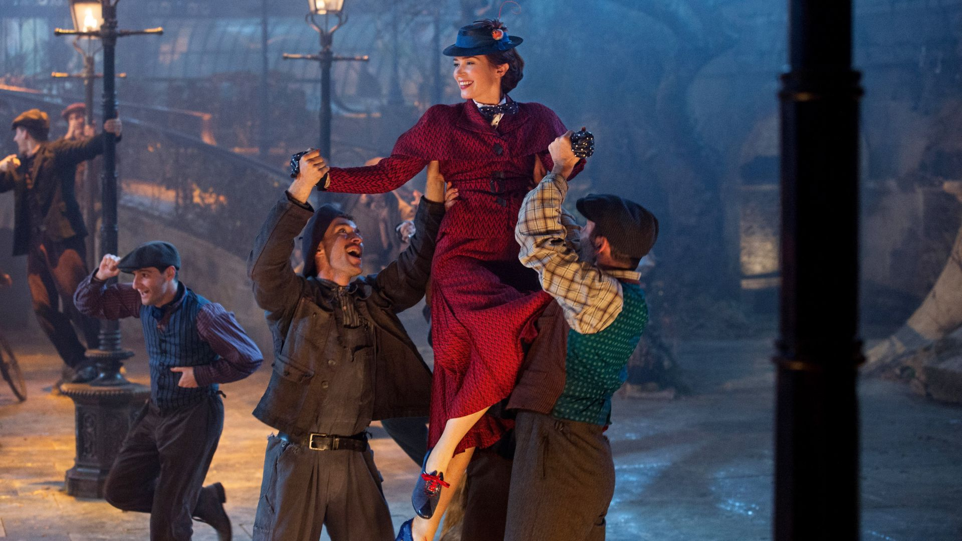 Мэри Поппинс возвращается, Mary Poppins Returns, Emily Blunt, 4K (horizontal)
