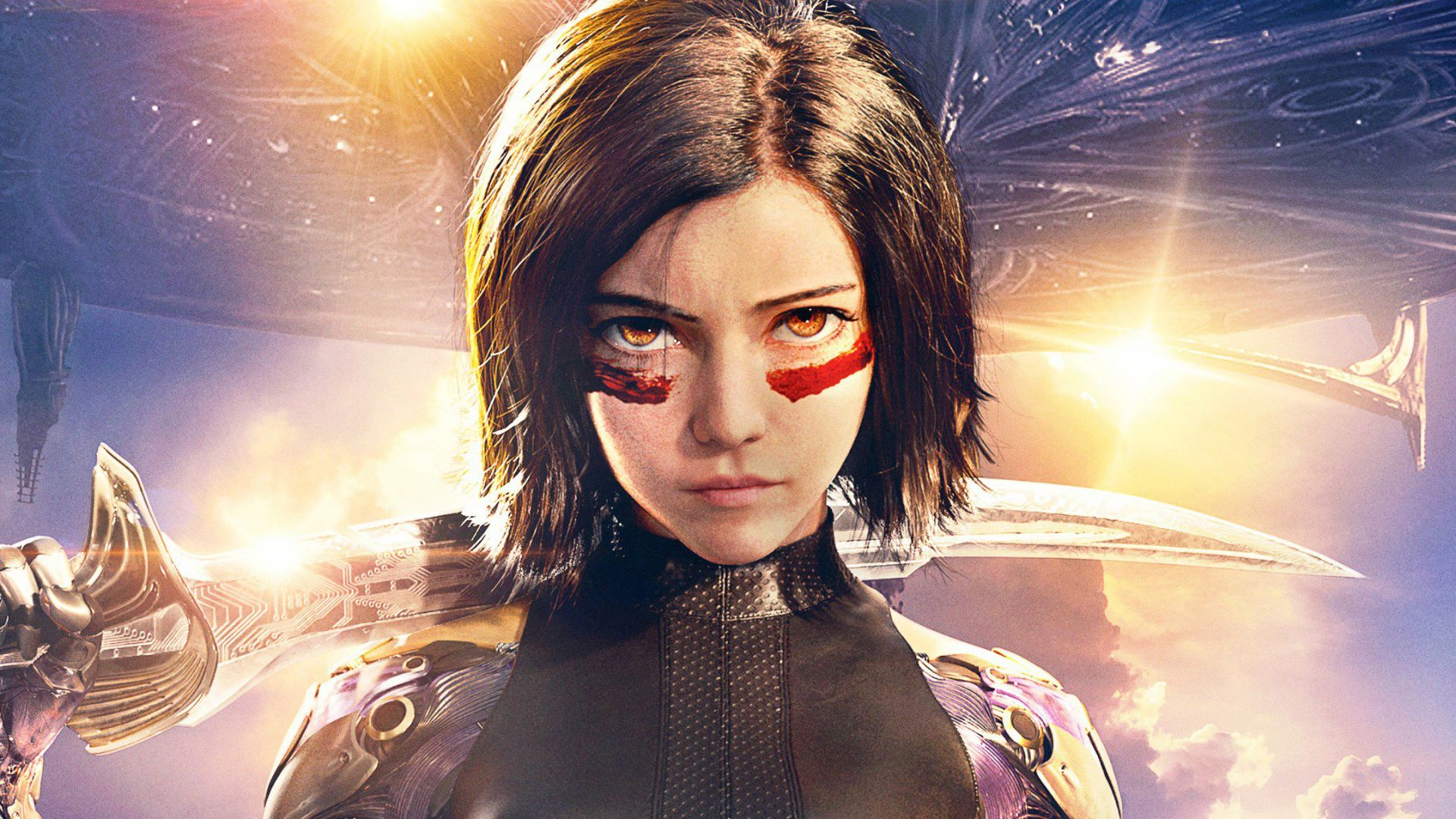 Боевой Ангел, Alita: Battle Angel, Rosa Salazar, HD (horizontal)