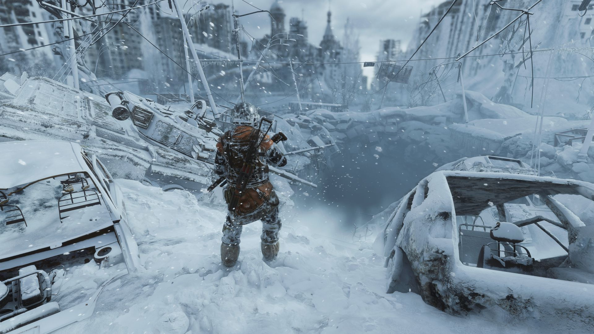 Метро Исход, Metro Exodus, screenshot, 4K (horizontal)