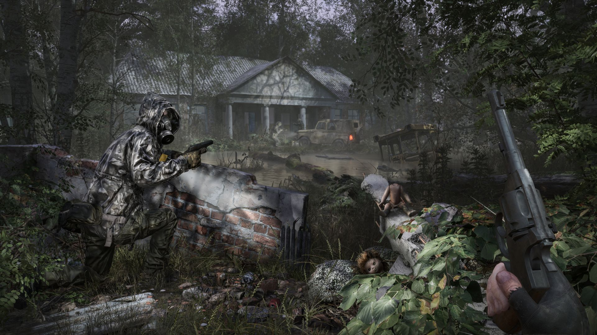 Chernobylite, screenshot, 4K (horizontal)