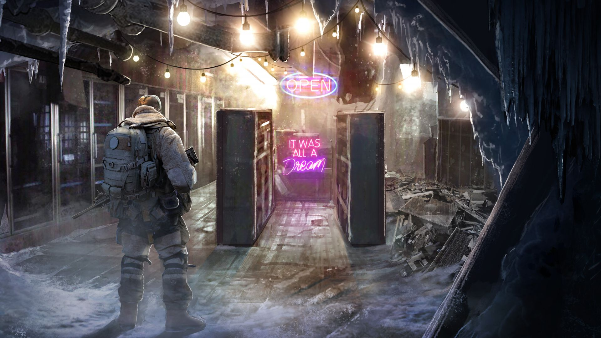 Wasteland 3, E3 2019, artwork, 8K, Wasteland 3, E3 2019, artwork, 8K (horizontal)