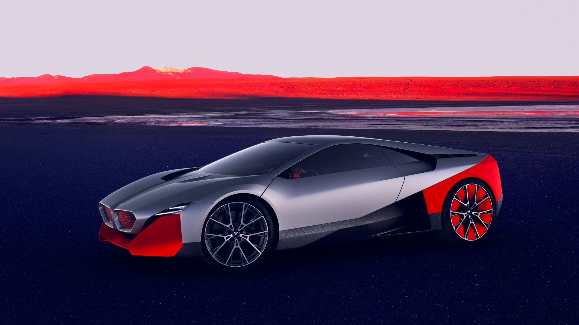 BMW Vision M NEXT, electric cars, 2019 cars, 4K, BMW Vision M NEXT, electric cars, 2019 cars, 4K (horizontal)