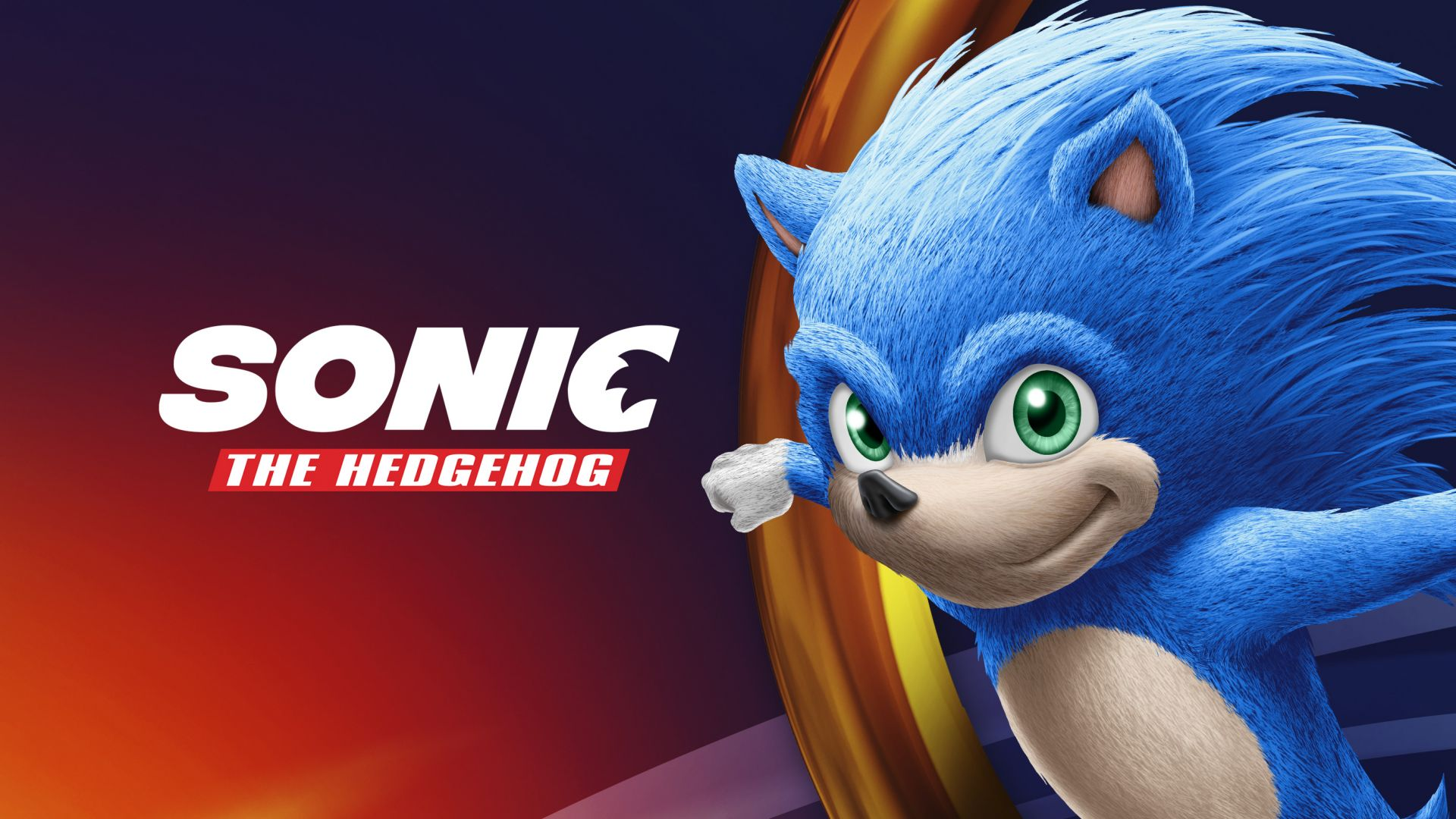 Sonic the Hedgehog, poster, HD, Sonic the Hedgehog, poster, HD (horizontal)