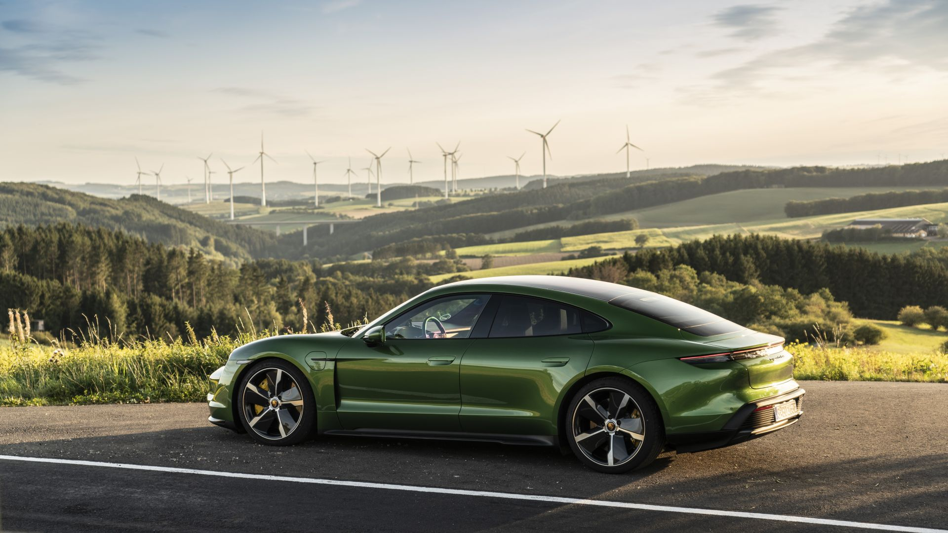 Porsche Taycan Turbo, electric cars, 2019 cars, 8K, Porsche Taycan Turbo, electric cars, 2019 cars, 8K (horizontal)