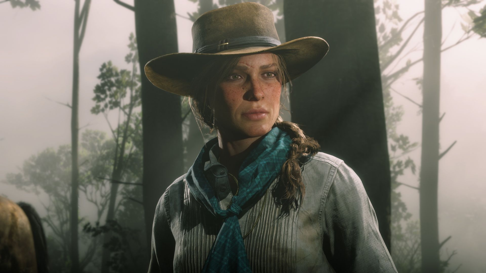 Red Dead Redemption 2, RDR2 PC, screenshot, 4K (horizontal)