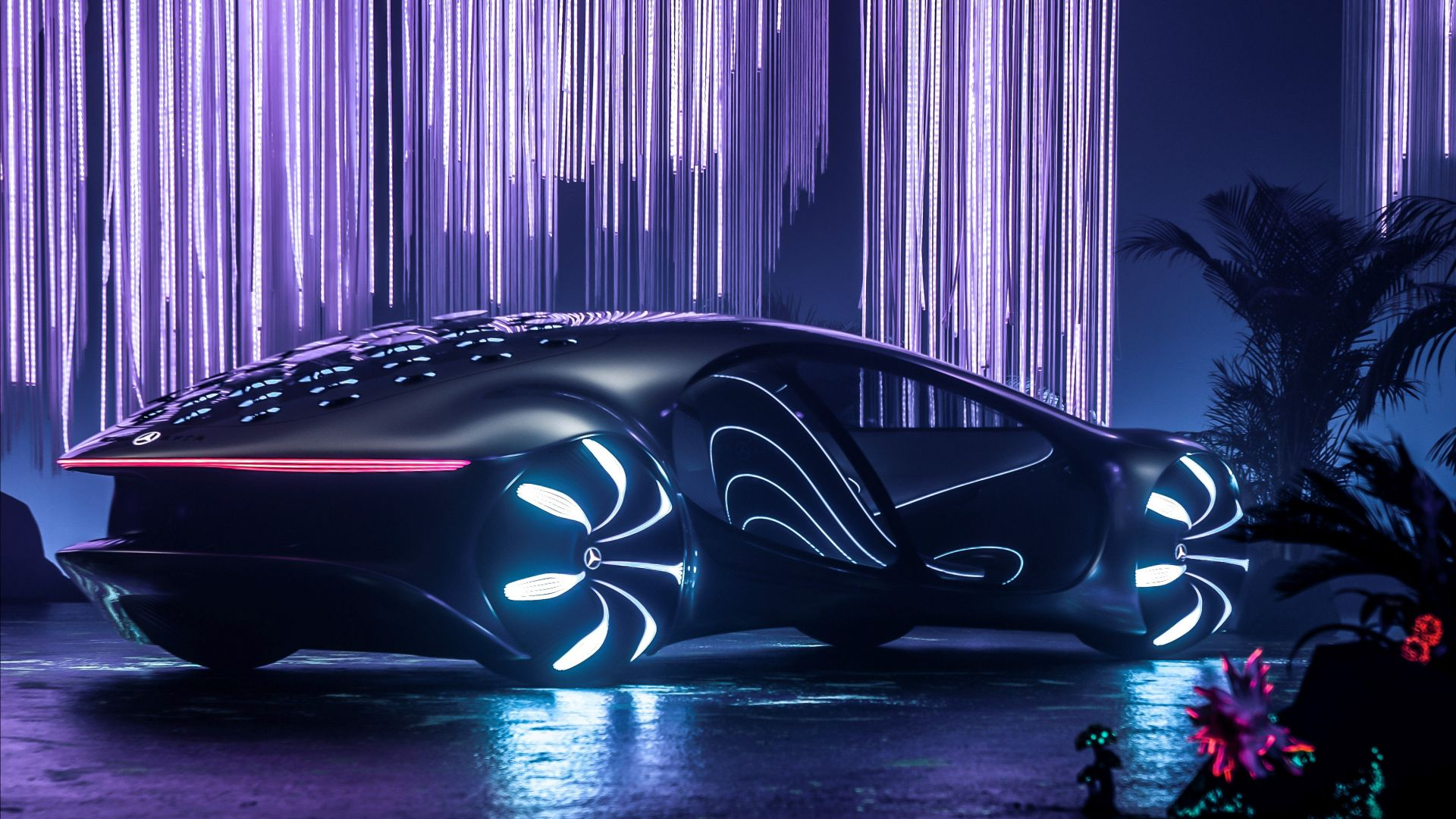 Mercedes-Benz VISION AVTR, CES 2020, electric cars, 4K, Mercedes-Benz VISION AVTR, CES 2020, electric cars, 4K (horizontal)
