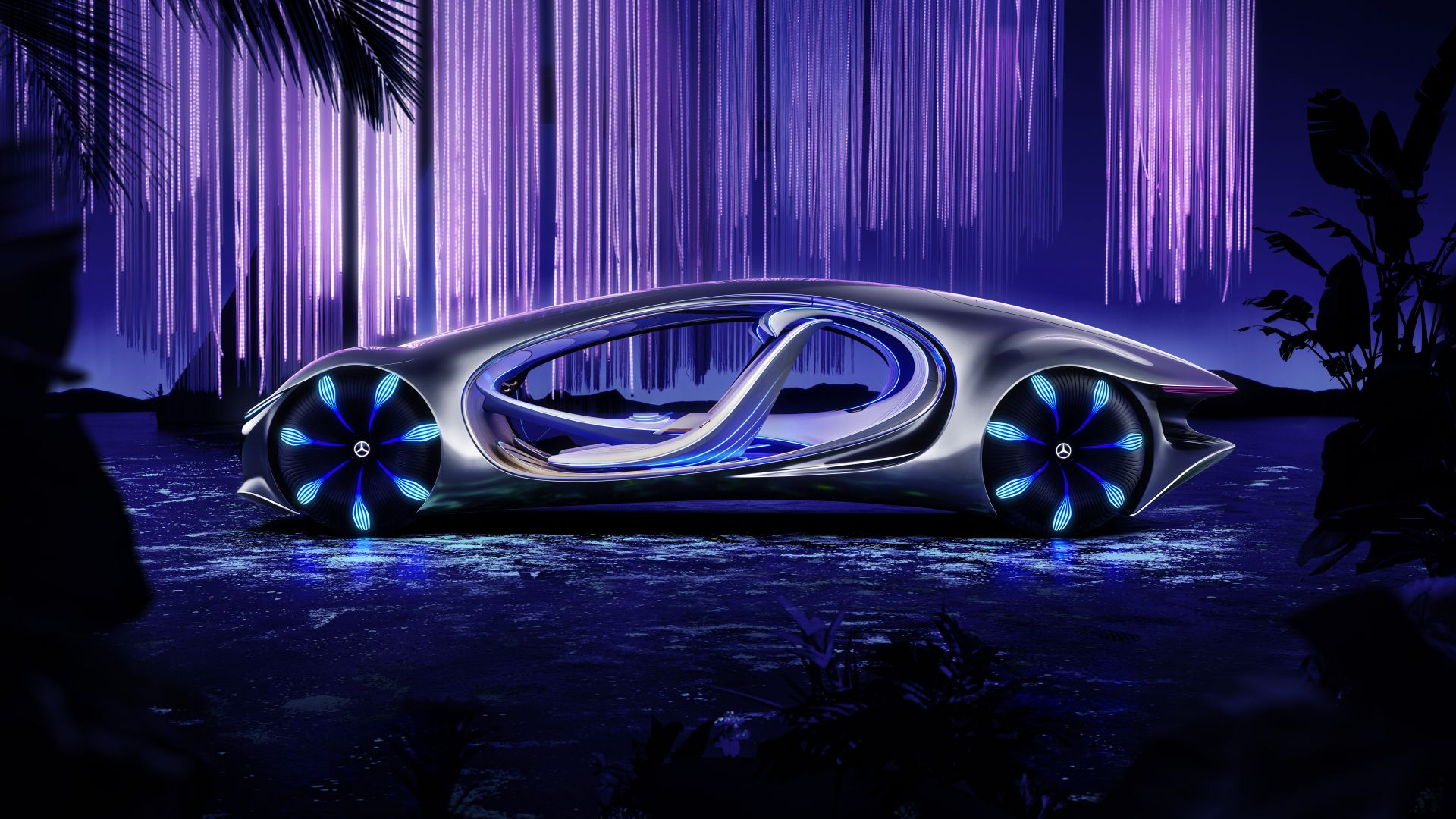 Mercedes-Benz VISION AVTR, CES 2020, electric cars, 8K, Mercedes-Benz VISION AVTR, CES 2020, electric cars, 8K (horizontal)