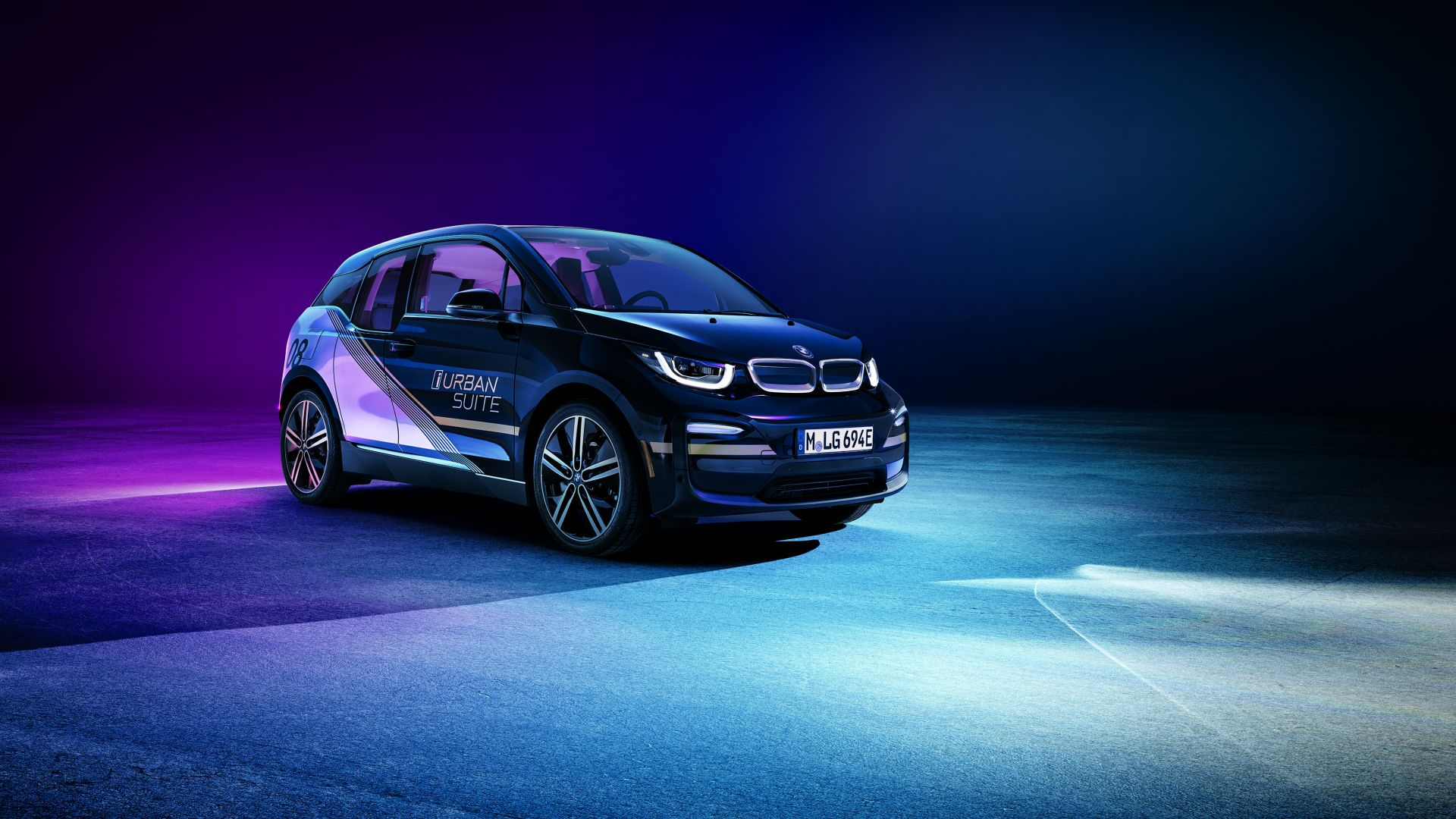 BMW i3 Urban Suite, CES 2020, electric car, 2020 cars, 4K, BMW i3 Urban Suite, CES 2020, electric car, 2020 cars, 4K (horizontal)