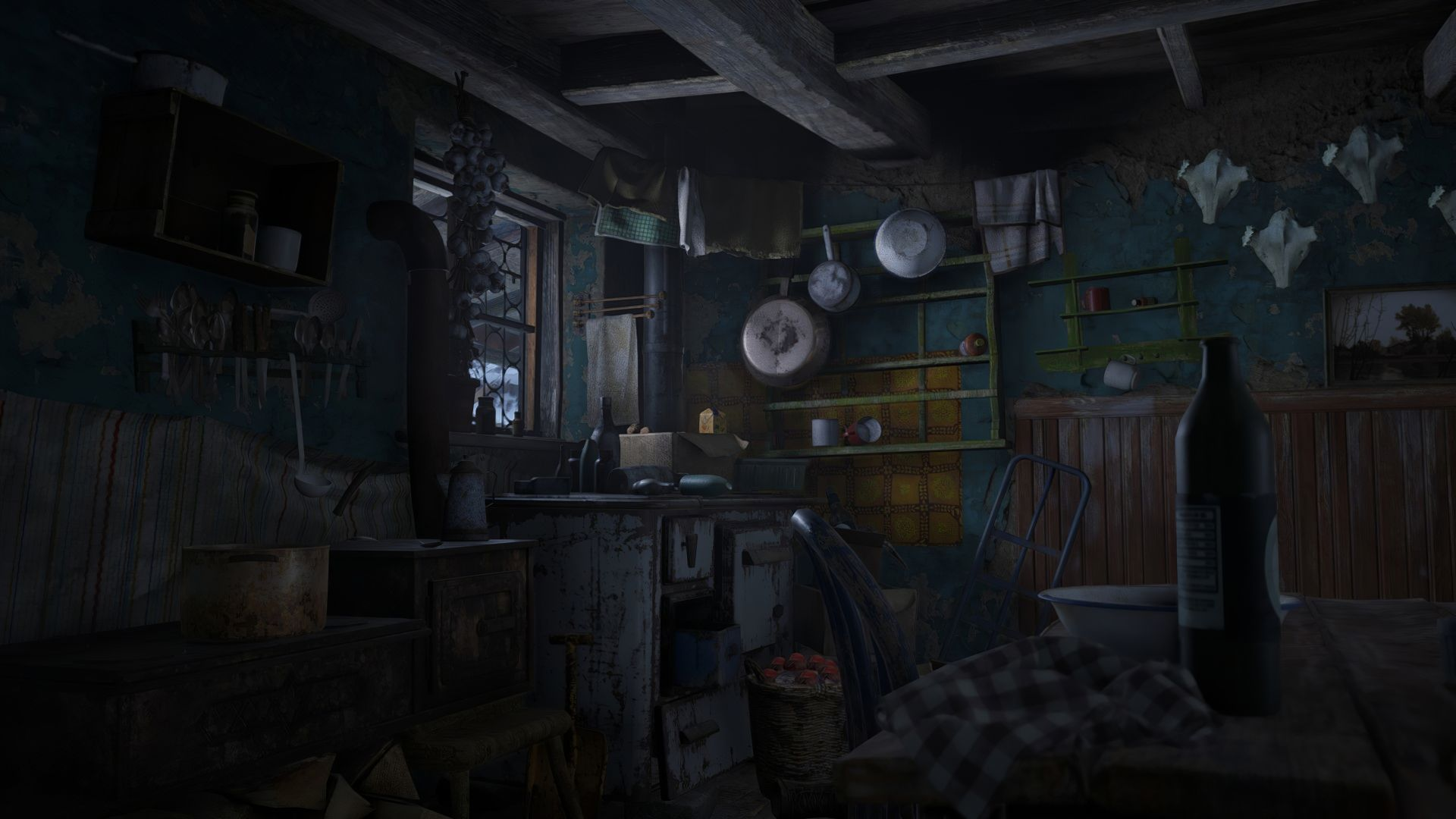 Resident Evil Village, screenshot, 4K, PlayStation 5, PS5 (horizontal)