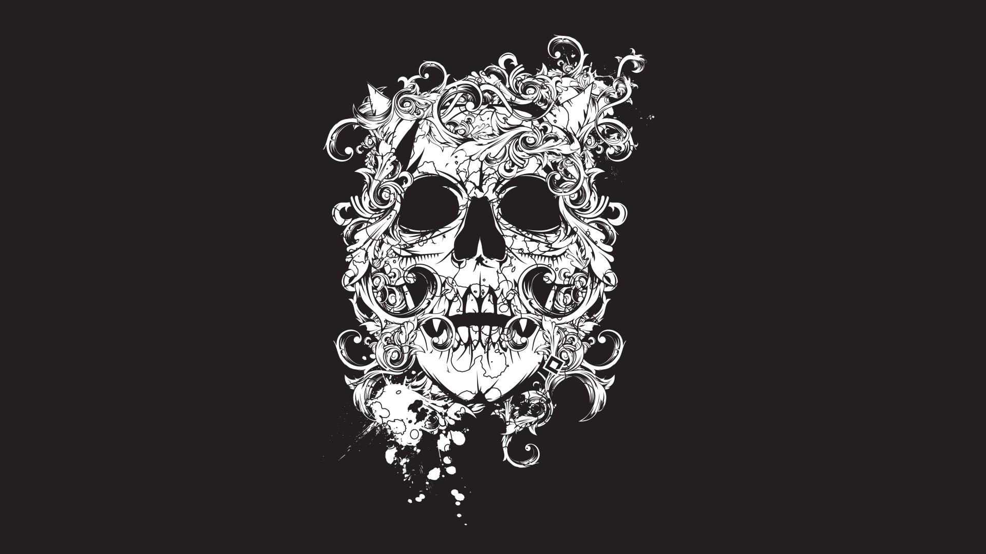 картинки черепа тату для рабочего стола меня тобольск
