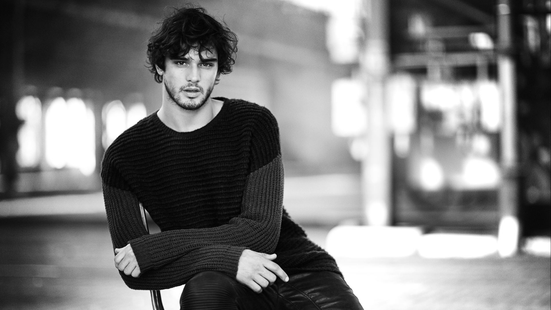 Марлон Тейшейра, Топ Модель, модель, пляж, Marlon Teixeira, Top Fashion Male Models, model, beach (horizontal)