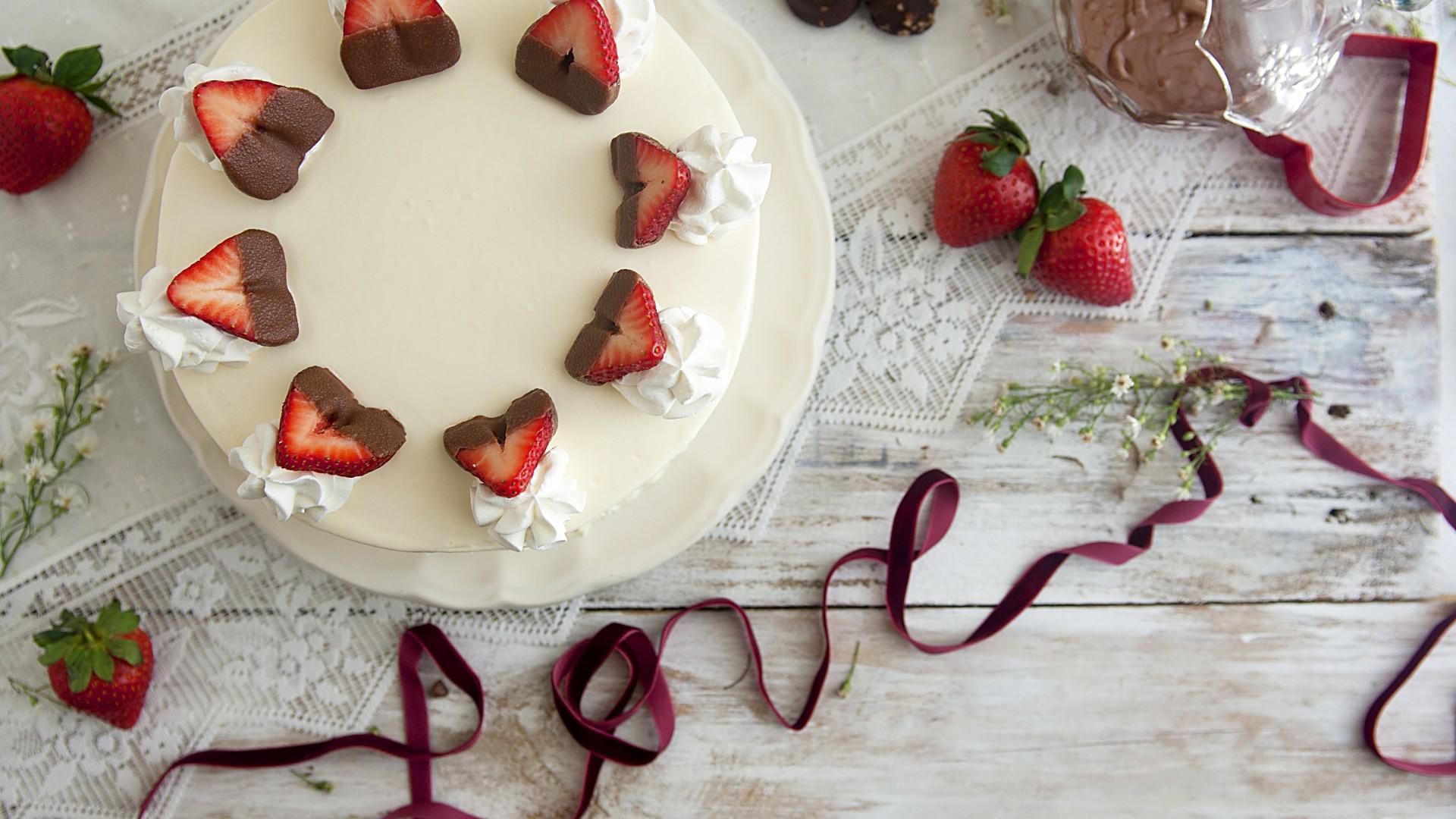 Как сделать фон для тортов