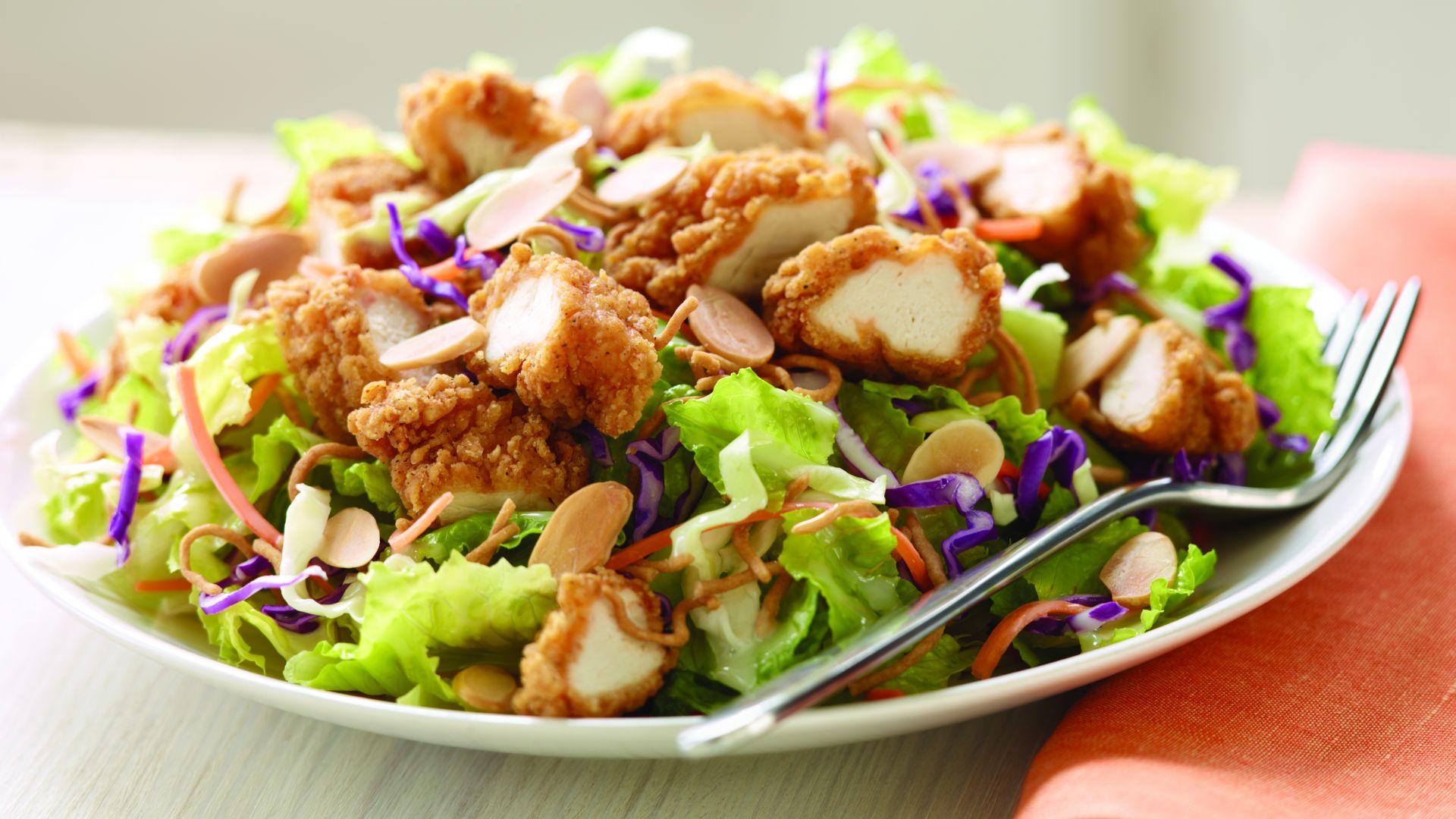 курица салат в хорошем качестве