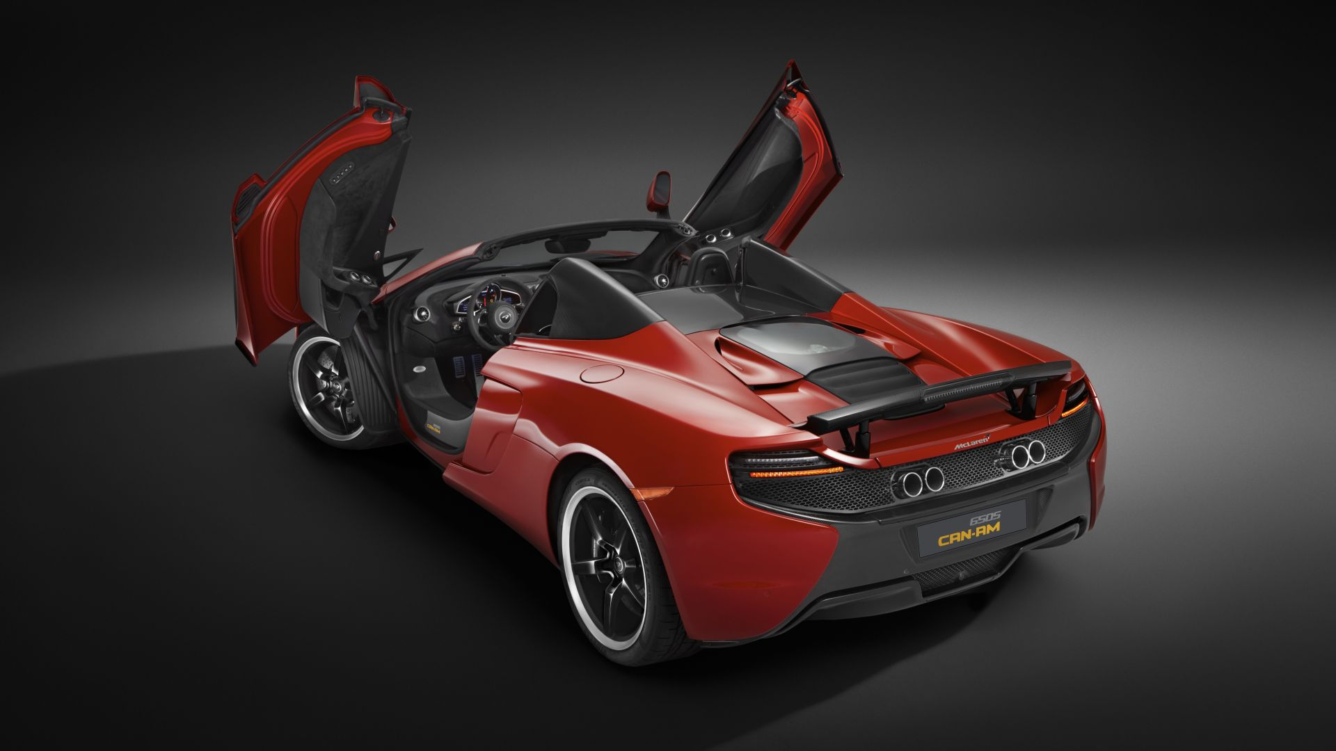 суперкар, скорость, McLaren 650S Spider, supercar, McLaren, luxury cars, спортивные машины, McLaren 650S Spider, supercar, McLaren, red, sports car, speed, test drive (horizontal)
