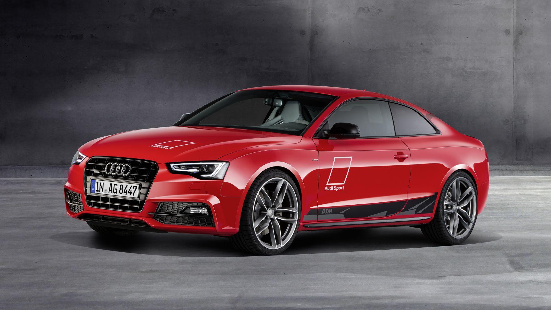 Audi A5 красная купе  № 3761389 бесплатно