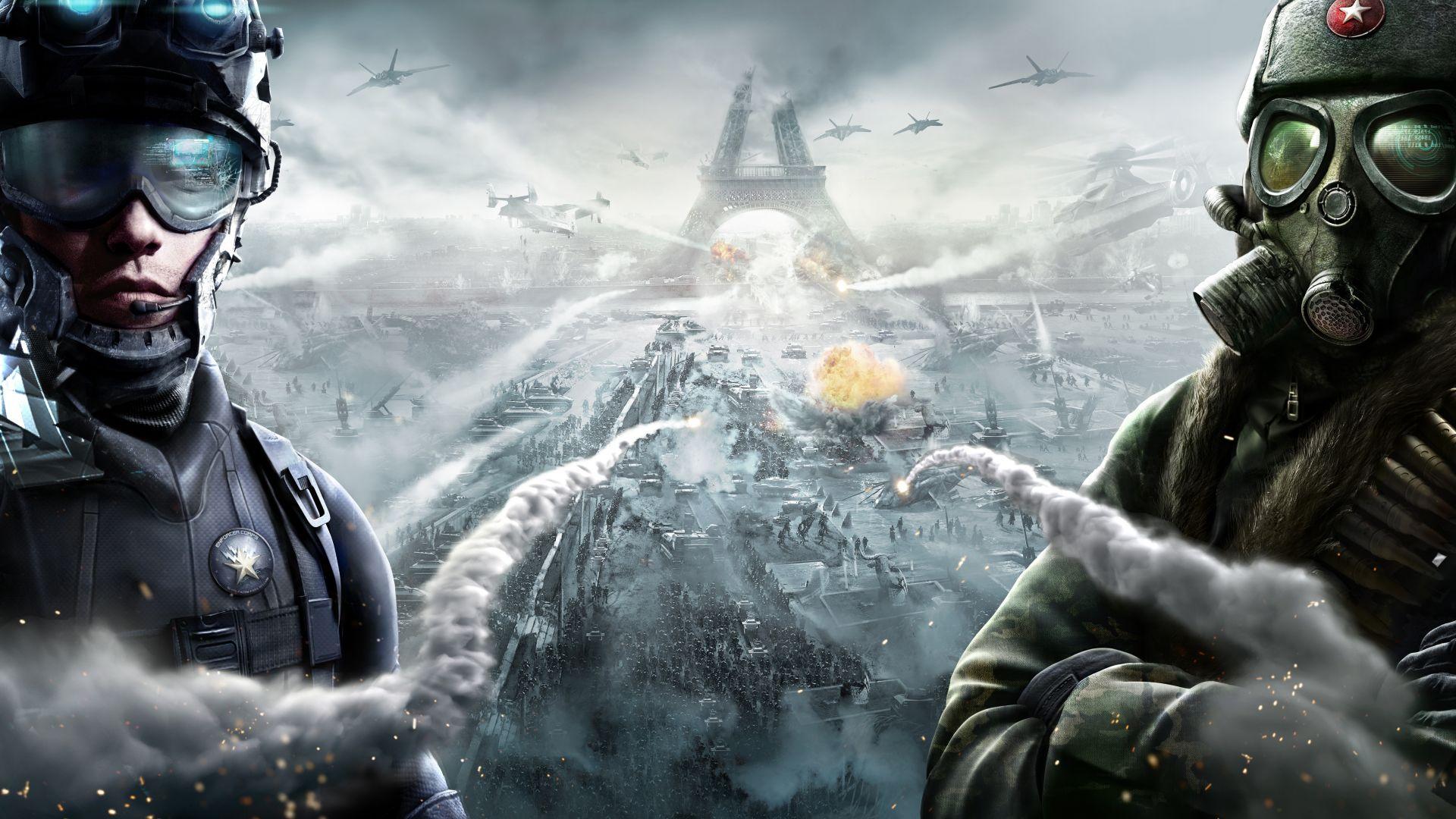 Крутые военные картинки из игр