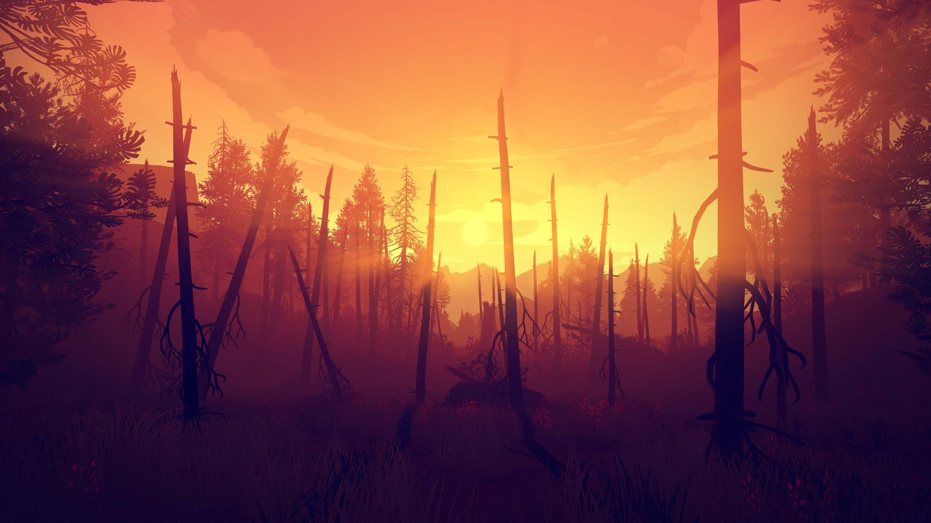 Firewatch, Лучшие игры, игра, квест, ужасы, хоррор, ПК, PC, PS4, Firewatch, Best Games, game, quest, horror, PC, PS4 (horizontal)