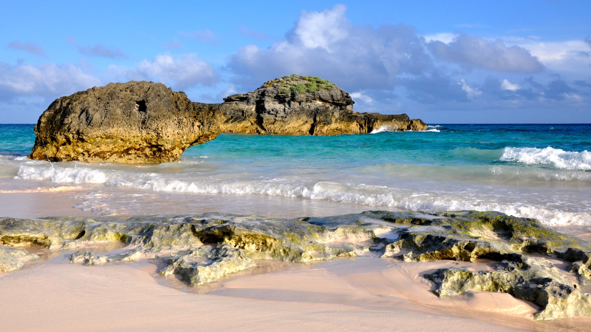 Пляж Подкова, Бермуды, лучшие пляжи 2016, Travellers Choice Awards 2016, Horseshoe Bay Beach, Bermuda, Best beaches of 2016, Travellers Choice Awards 2016 (horizontal)