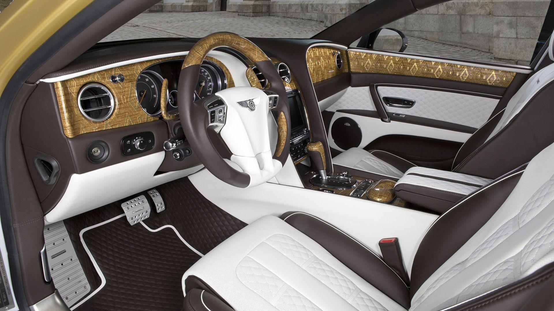 Bentley в тюнинге от Mansory онлайн