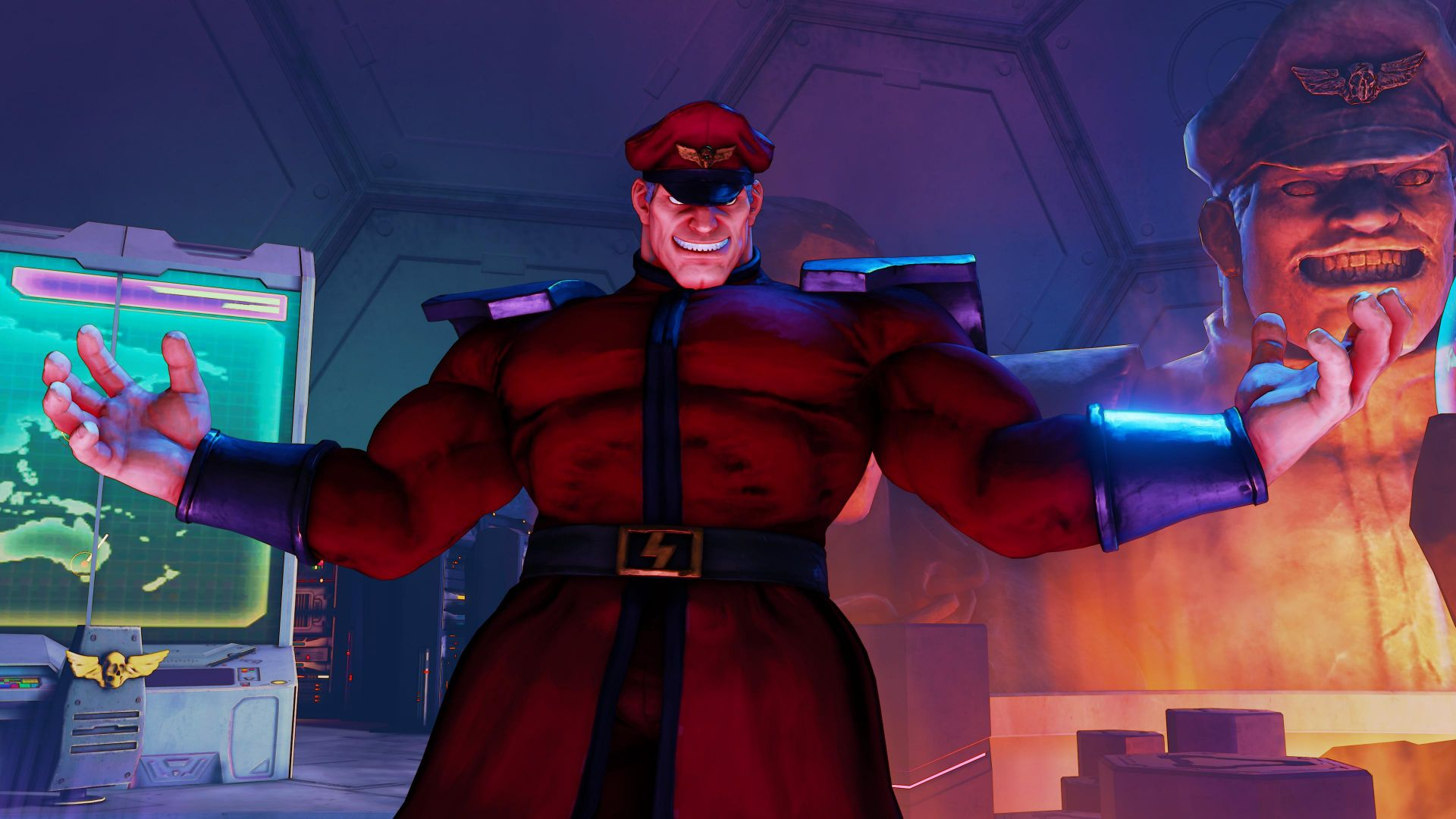 Street Fighter 5, М.Бисон, Лучшие игры, фентези, ПК, PS4, Street Fighter 5, M. BISON, Best Games, fantasy, PC, PS4 (horizontal)