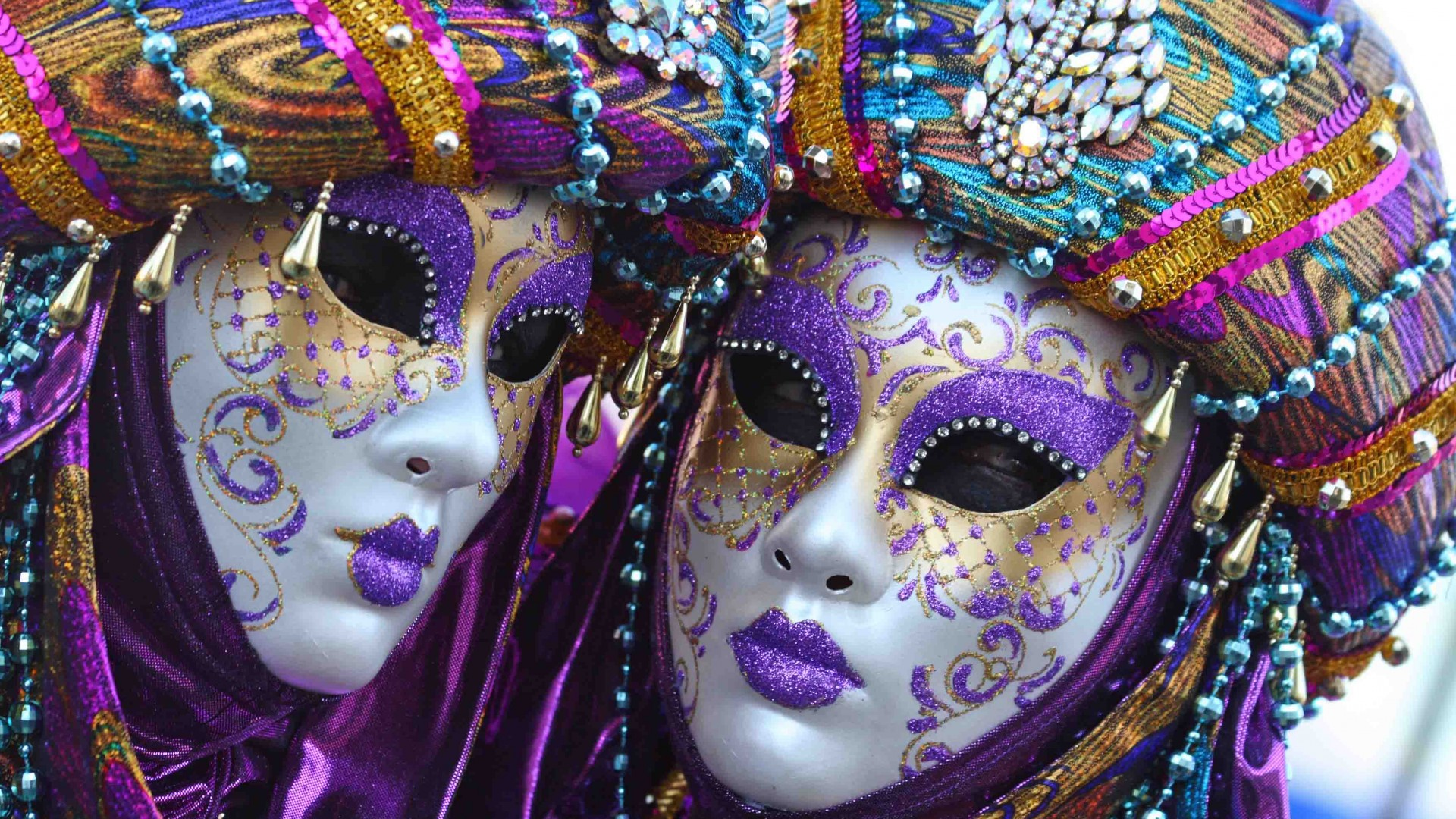 the carnival of mardi gras