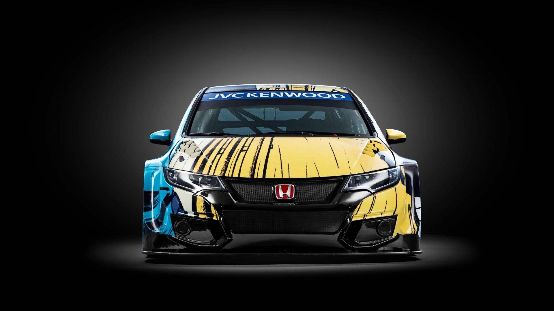 Хонда цивик, арт Джин Гратон, Honda Civic WTCC, Art Car Jean Graton