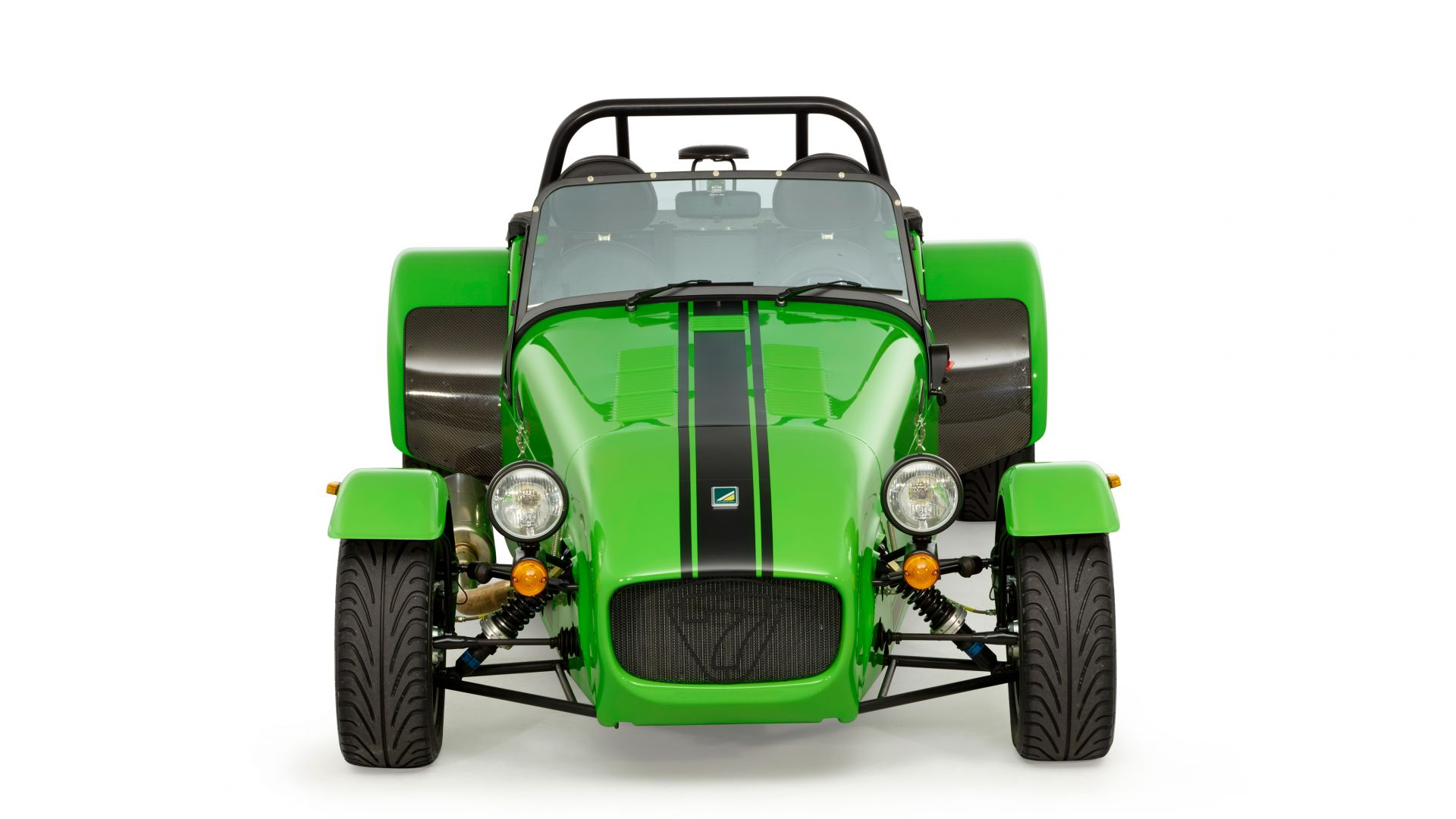 Катерхем 7 275, зеленый, Caterham seven 275 r, caterham 7, green (horizontal)