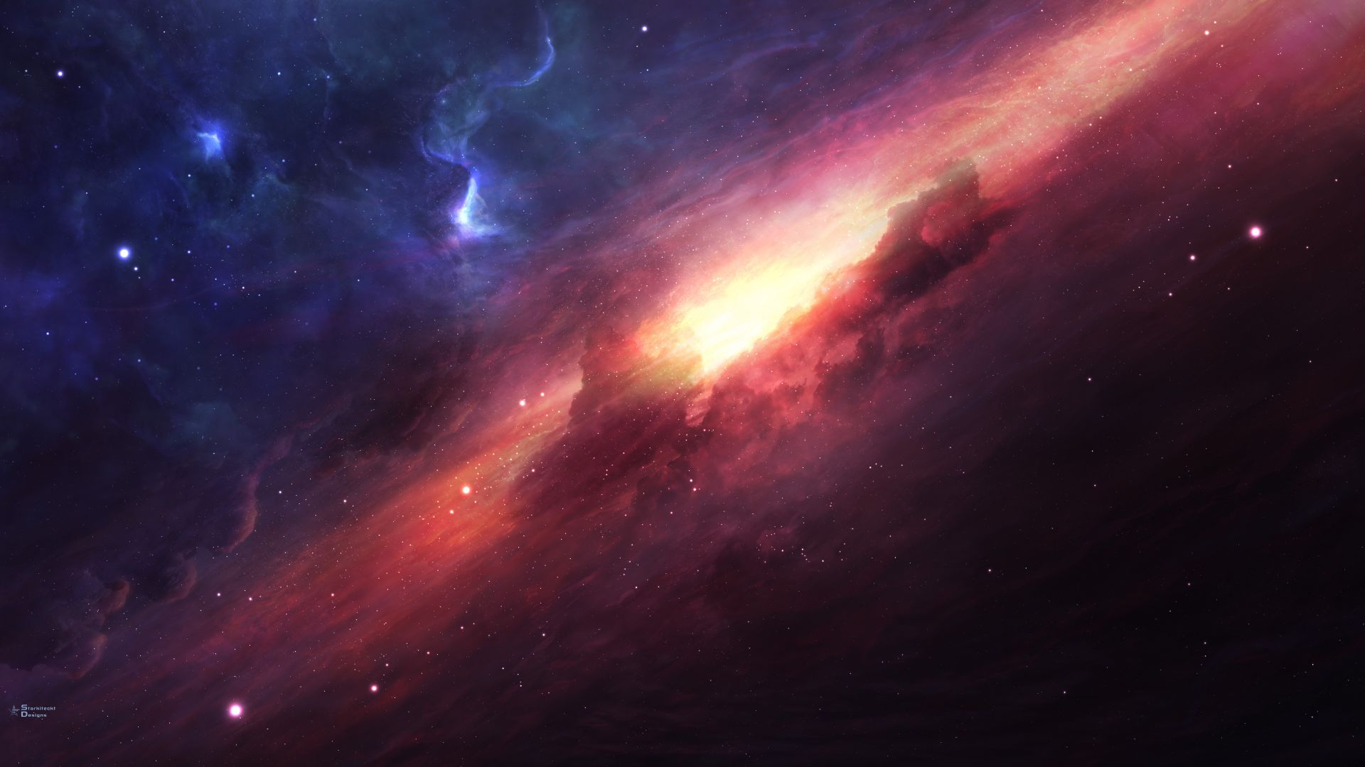арт, космос, галактика, звезды, art, space, galaxy, universe, stars