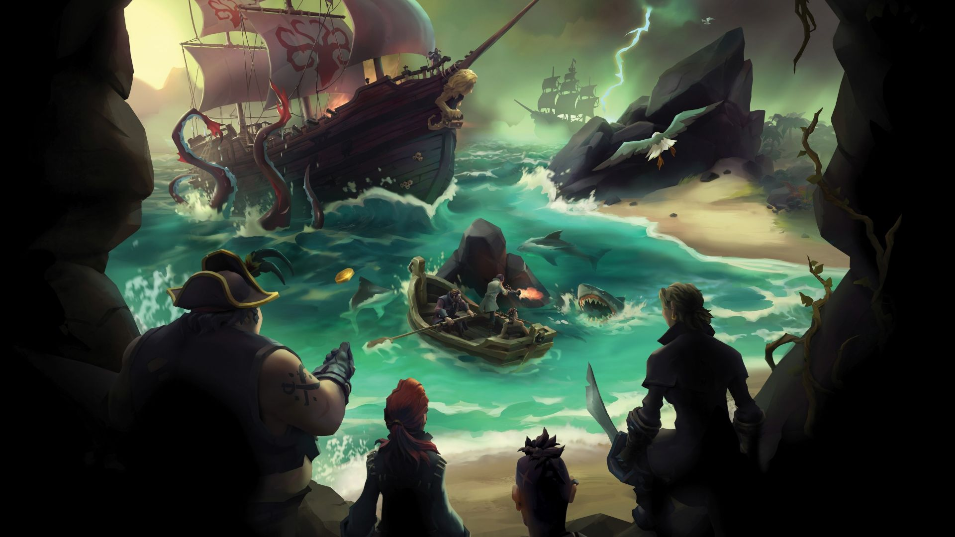 Sea of Thieves, Gamescom 2016, пираты, пк, пс4, иксбокс ван, Sea of Thieves, Gamescom 2016, pirates, best games, pc, ps4, xbox one