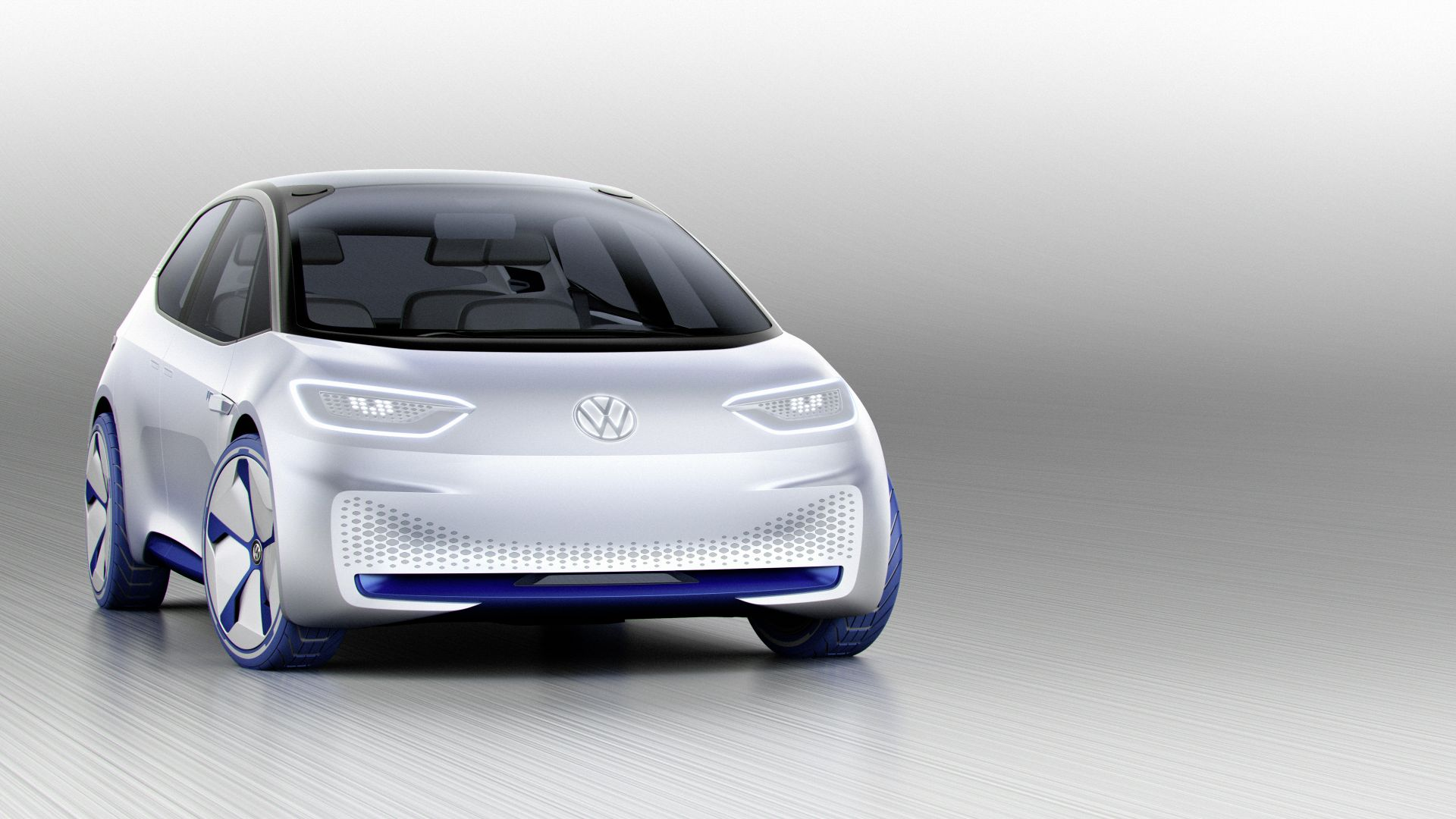 Фольцваген ИД, Volkswagen I.D., париж авто шоу 2016, электромобиль, Volkswagen I.D., paris auto show 2016, electric cars, white (horizontal)