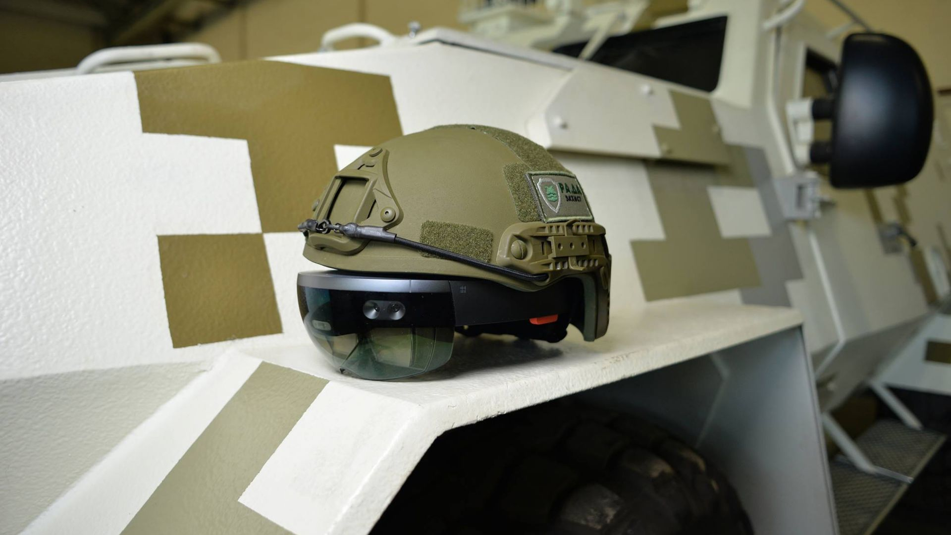 Шлем, ВР, HoloLens, ВСУ, HoloLens, helmet, LimpidArmor, Armed Forces of Ukraine