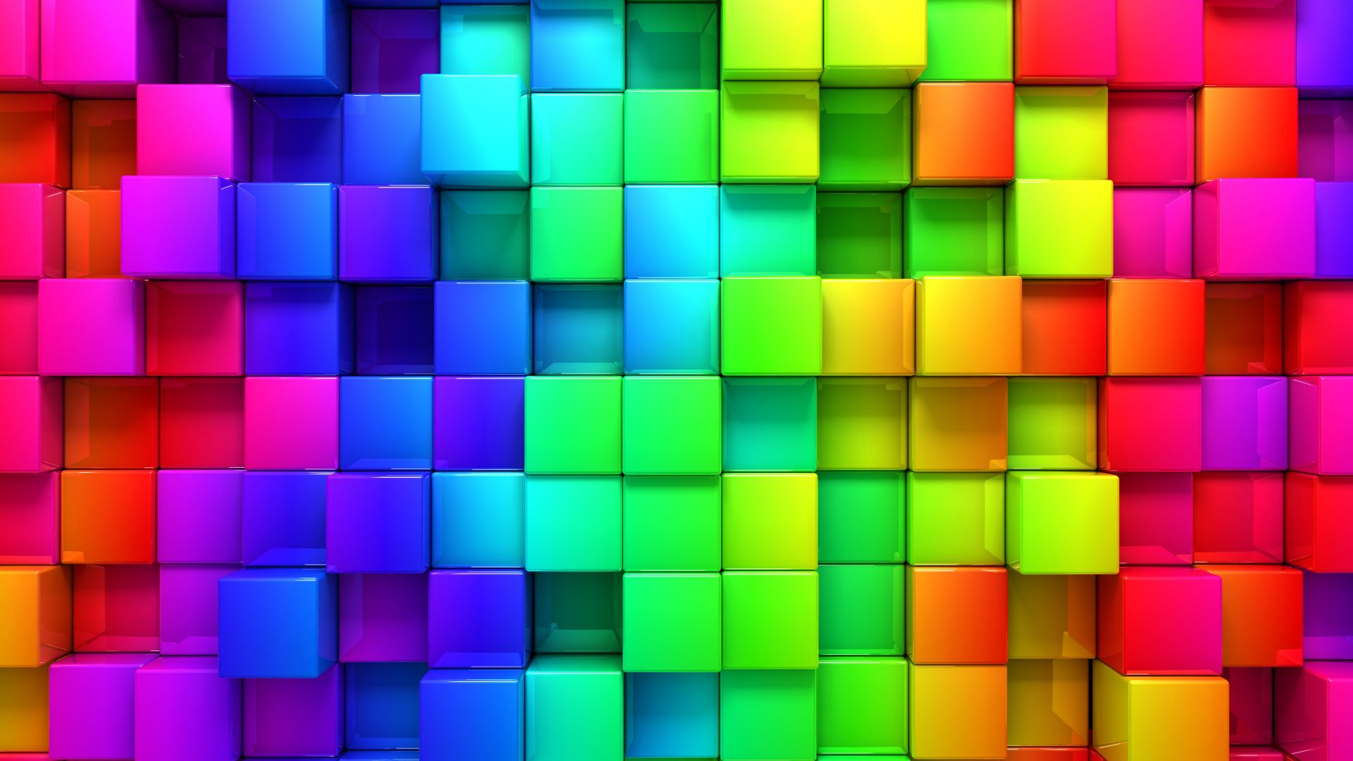 абстракт, квадраты, 4k, 5k, iPhone обои, андроид обои, cube, blocks, 4k, 5k, 3d, iphone wallpaper, android wallpaper, rainbow, abstract (horizontal)