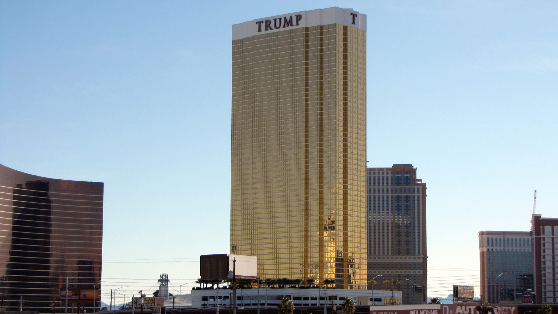 ТРАМП, отель, Лас Вегас, USA, TRUMP, hotel, Las Vegas, USA (horizontal)