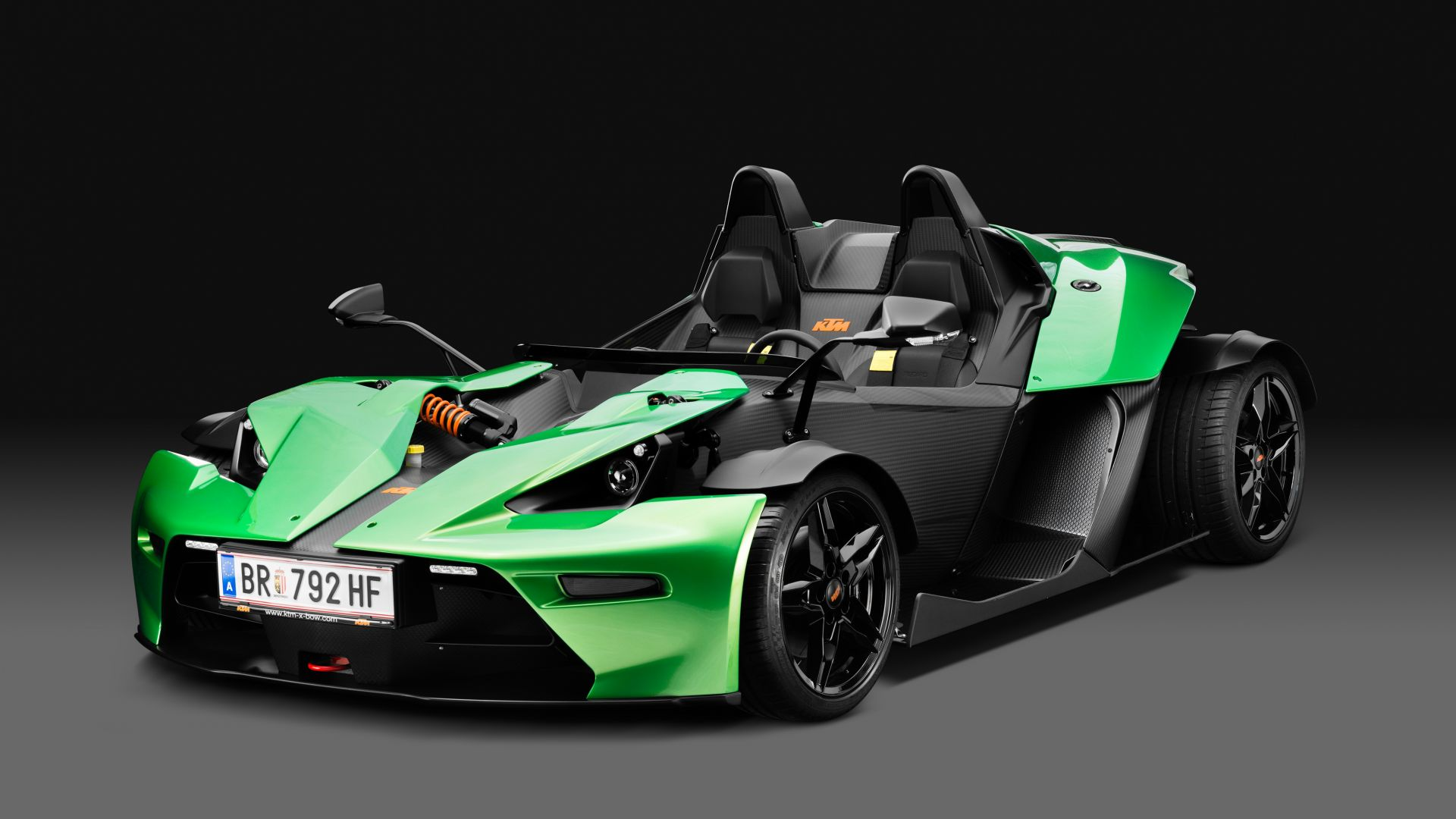 KTM X-Bow, суперкар, KTM X-Bow, supercar (horizontal)