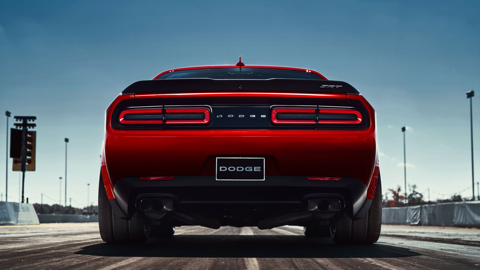 Dodge Challenger SRT Demon, красный, 2017 Нью-Йоркский Автосалон, Dodge Challenger SRT Demon, red, 2017 New York Auto Show