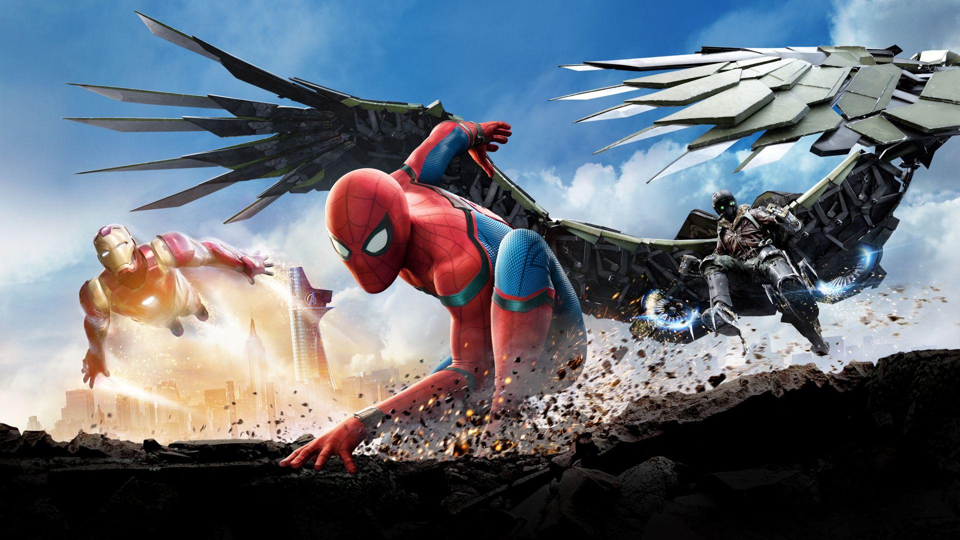 Человек паук : Возвращение домой фильм видео — 12 тыс. видео