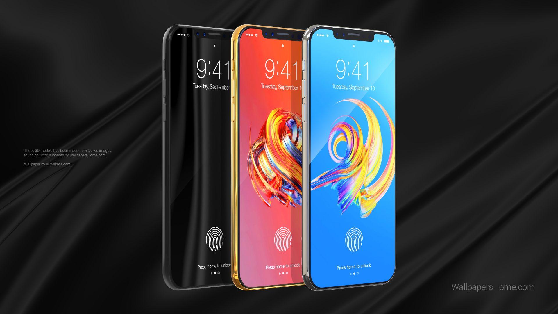 Новые обои айфон 7