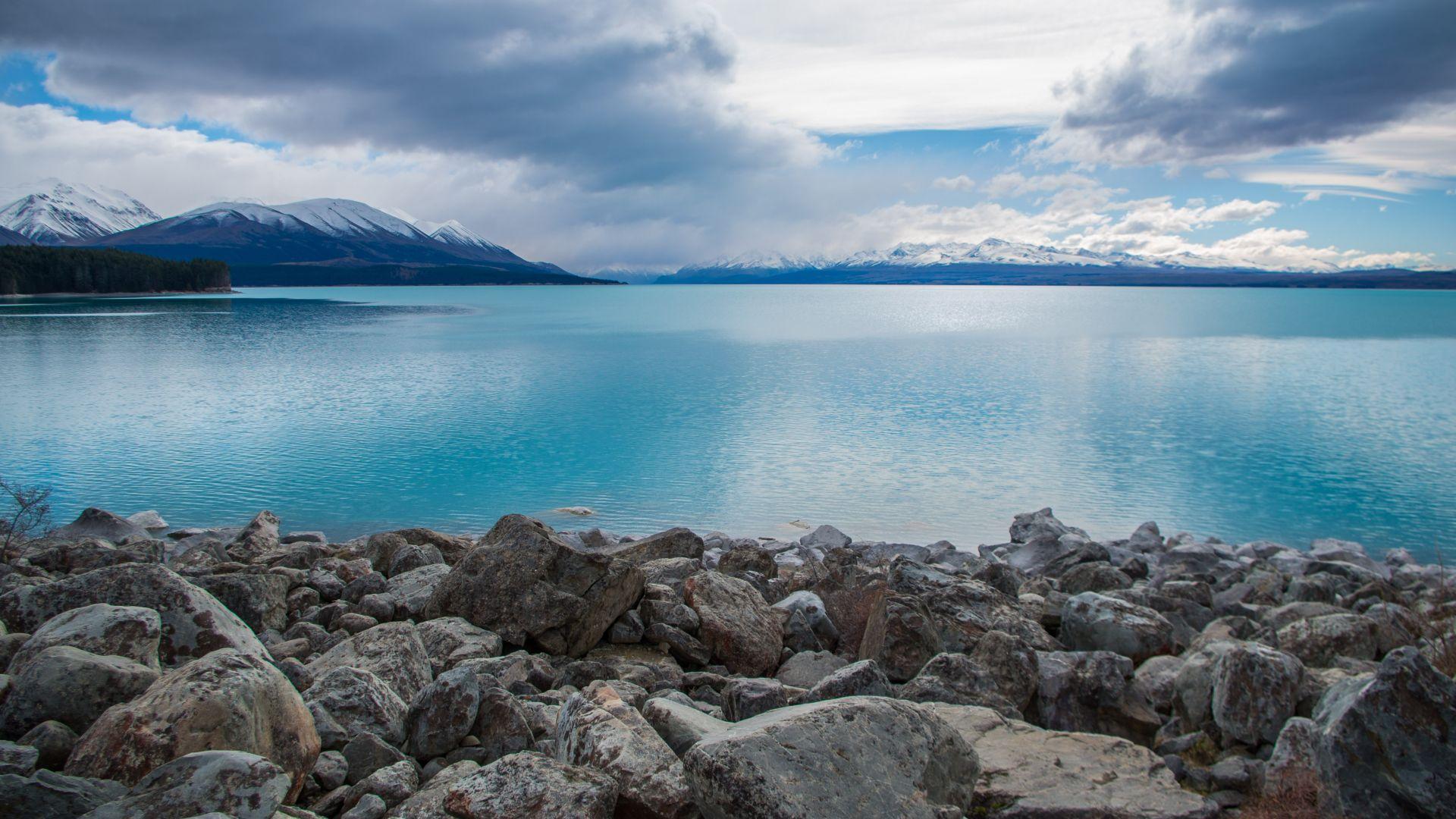 теракт новая зеландия Picture: Обои Новая Зеландия, озеро Пукаки, Lake Pukaki, New