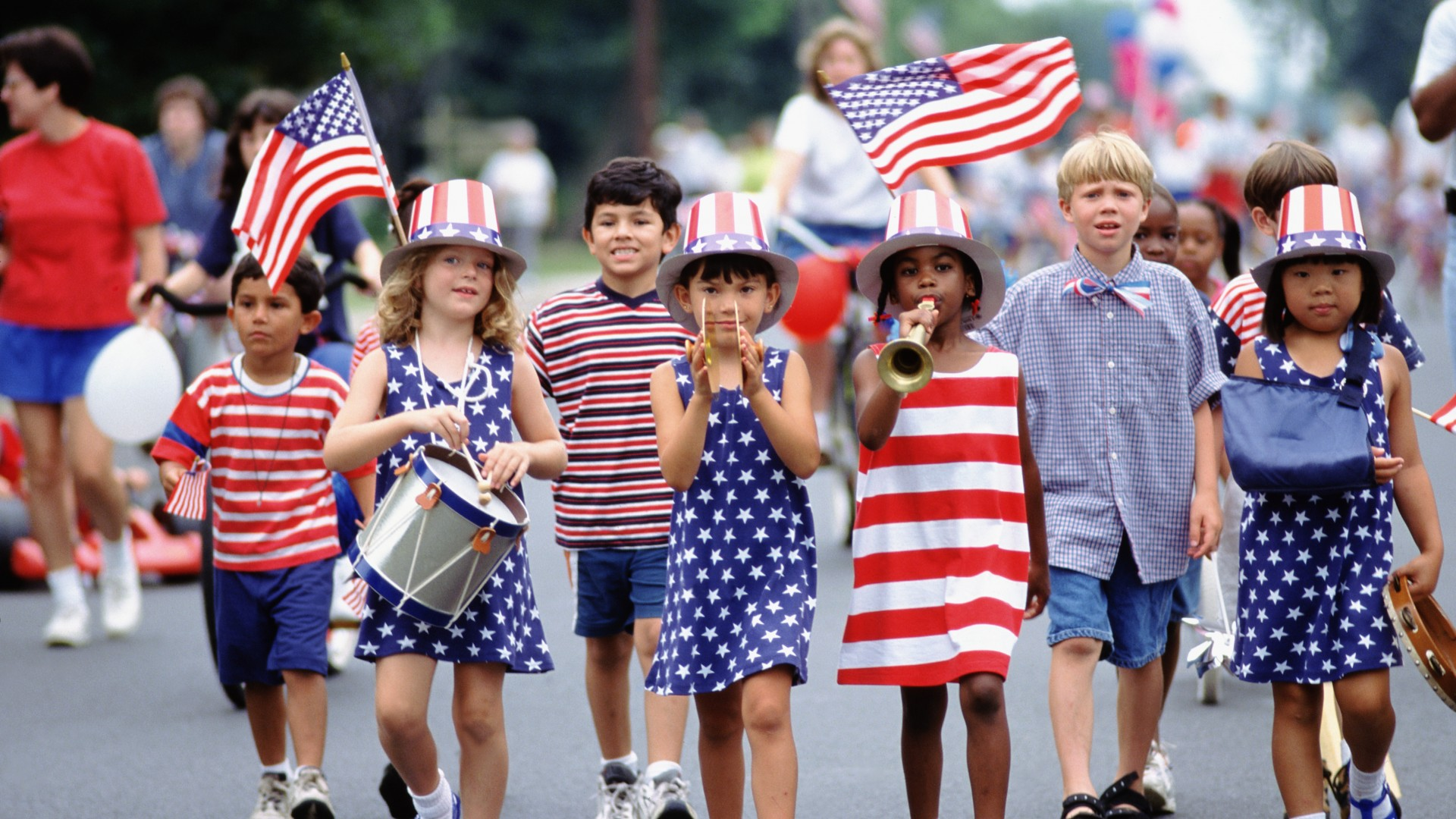 the importance of the fourth of july in childhood and now