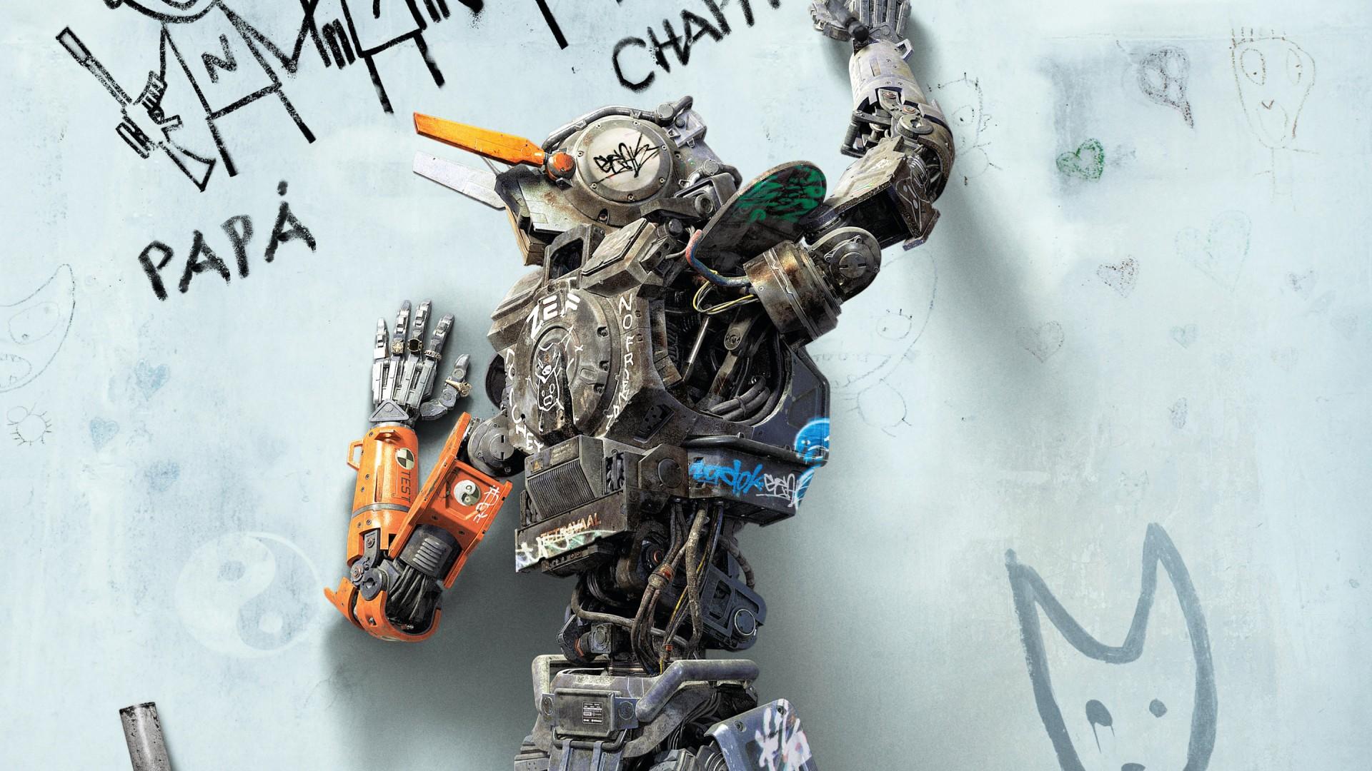 фото робот по имени чаппи