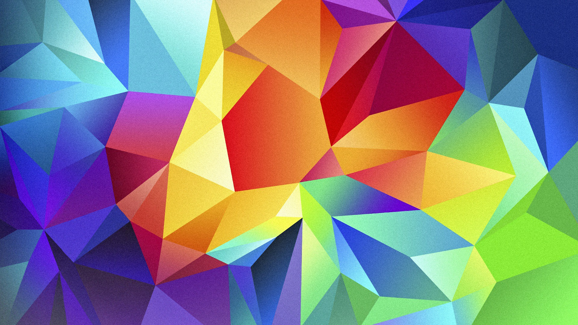 полигон, 4k, HD, цветной, андроид, фон, polygon, 4k, HD wallpaper, android, triangle, background, orange, red, blue, pattern (horizontal)