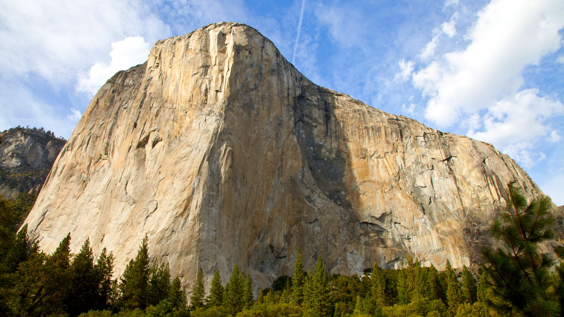 Обои Эпл, лес, горы, El Capitan, Yosemite, 5k wallpapers, forest, OSX, apple, mountains