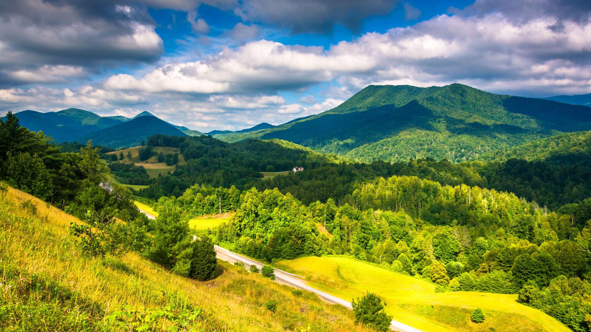 фото аппалачи горы