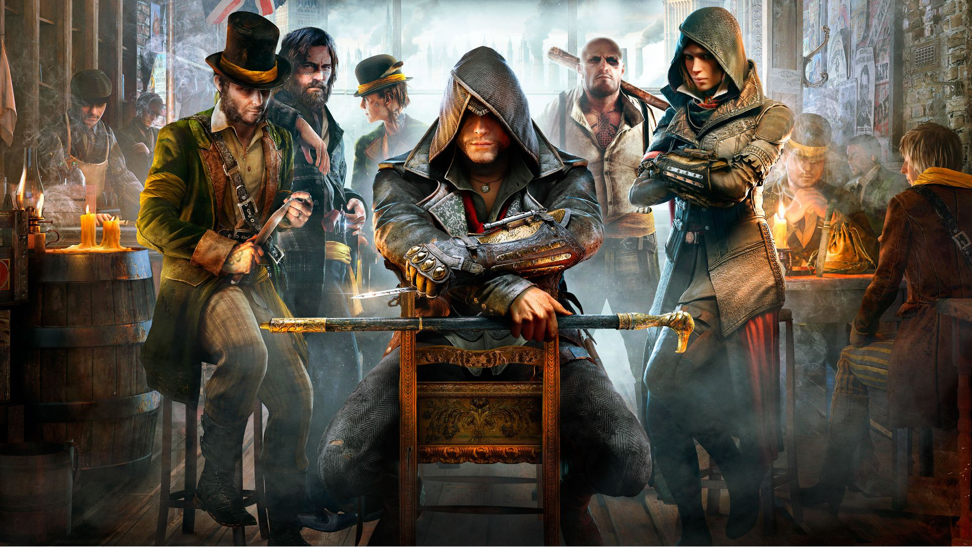 Assassin's Creed Синдикат, Лучшие игры 2015, игра, ПК, PS4, Xbox one, Assassin's Creed: Syndicate, Best Games 2015, game, open world, PC, PS4, Xbox one (horizontal)
